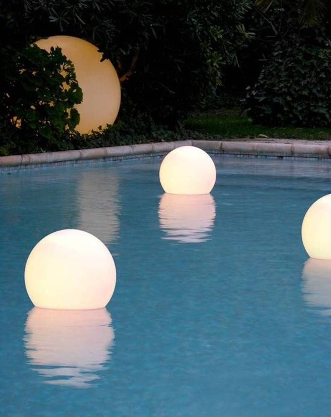 Outdoor Pool Lanterns With Well Known 33 Wondrous Outdoor Pool Lanterns Floating Lights For Inground Pools (View 15 of 20)