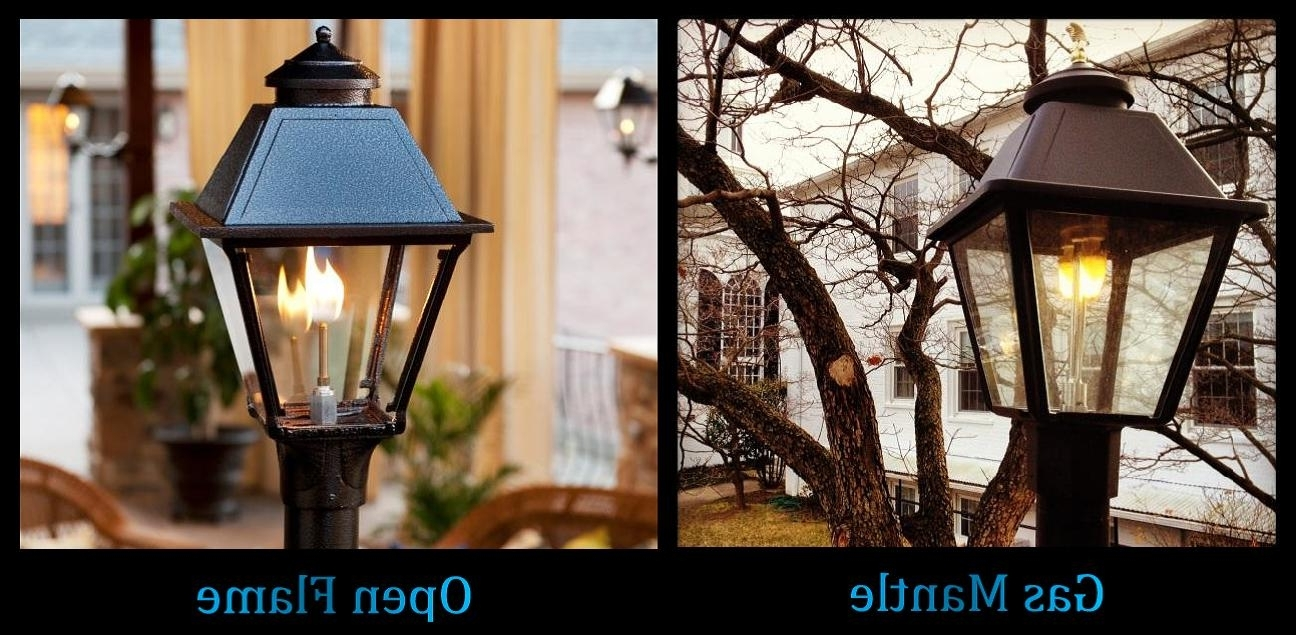Outdoor Propane Lanterns Throughout 2019 Quality Outdoor Gas Lamps Electric Lamps Lanterns Home Patio Street (Gallery 1 of 20)