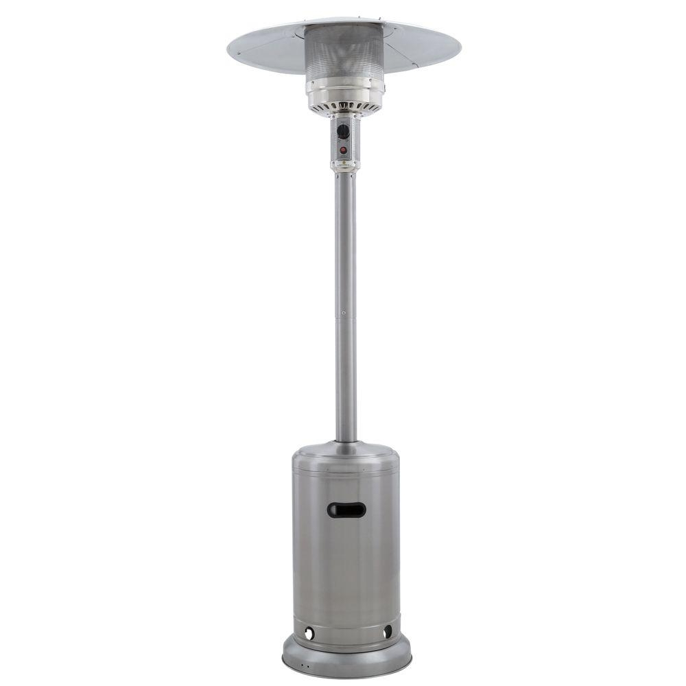 Outdoor Propane Lanterns With Current Gardensun 41,000 Btu Stainless Steel Propane Patio Heater Hss A Ss (View 11 of 20)