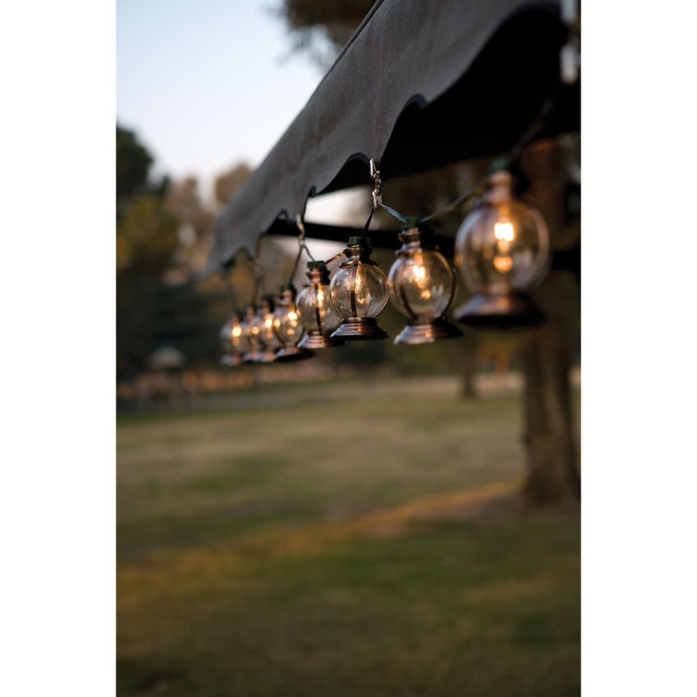 Outdoor Propane Lanterns Within Most Up To Date Copper Lantern Lights – Direcsource Ltd 69033 – Patio Lights (View 12 of 20)