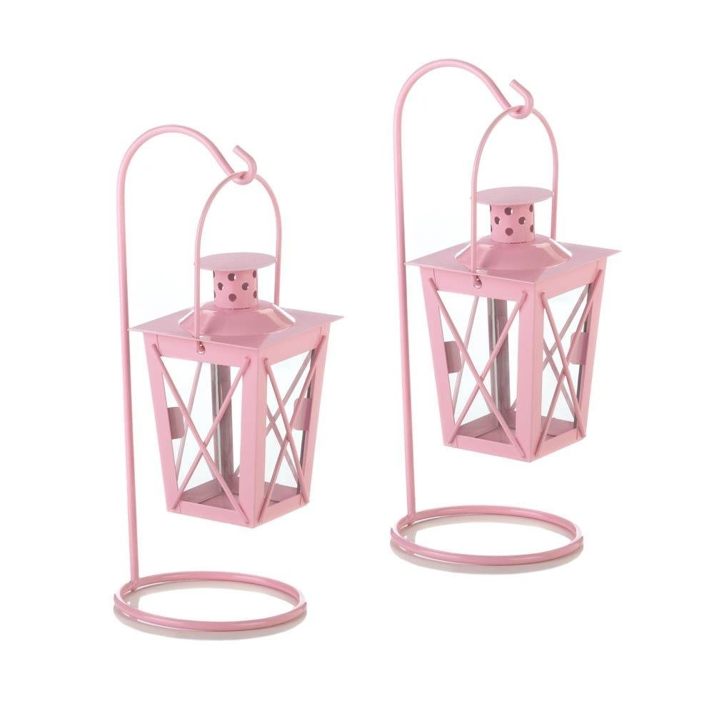 Outdoor Railroad Lanterns Inside Latest Hanging Lantern Candle, Railroad Duo Small Metal Hanging Candle (View 11 of 20)