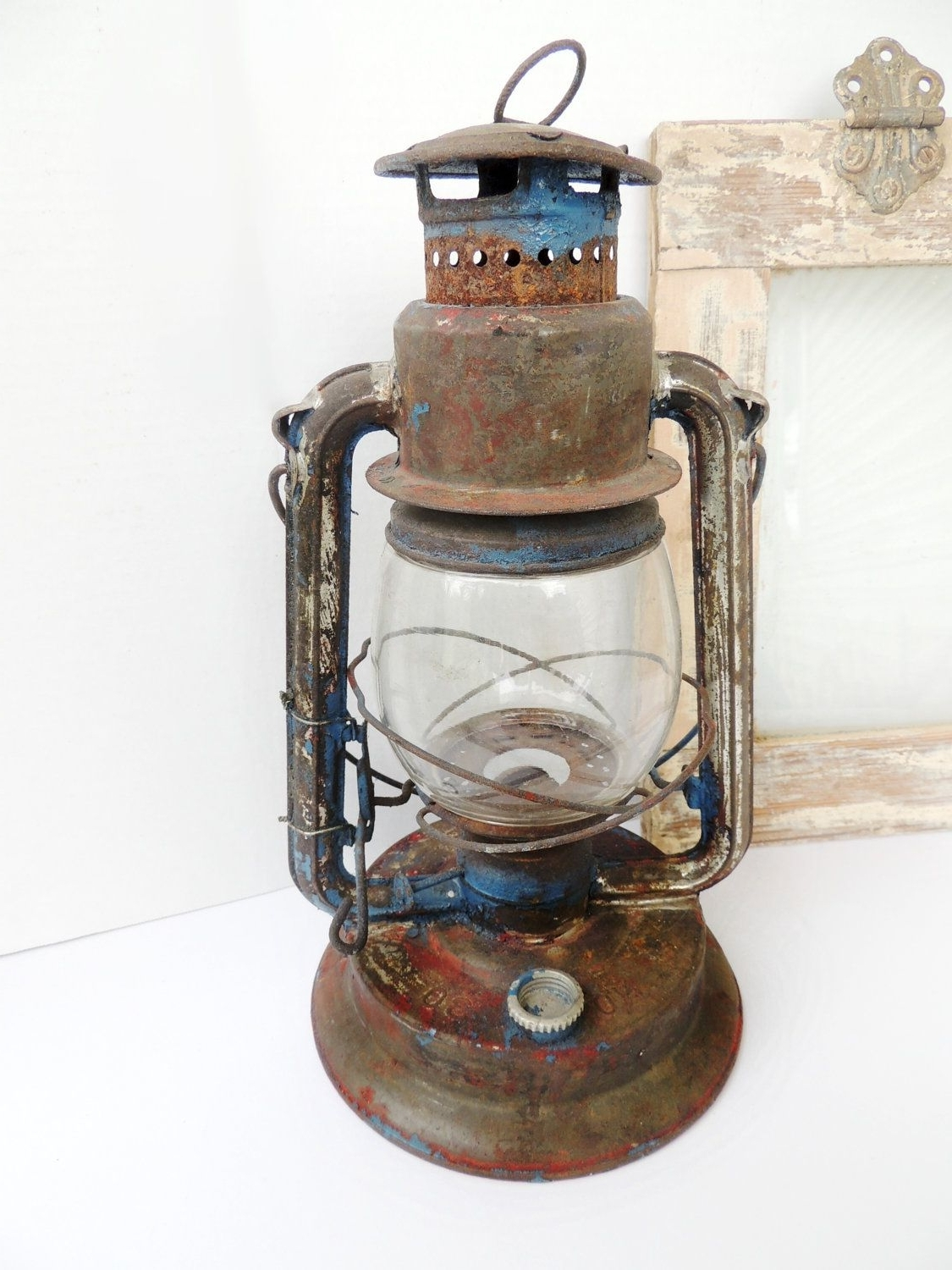 Outdoor Railroad Lanterns Pertaining To Newest Vintage Lantern Paull's No (View 12 of 20)