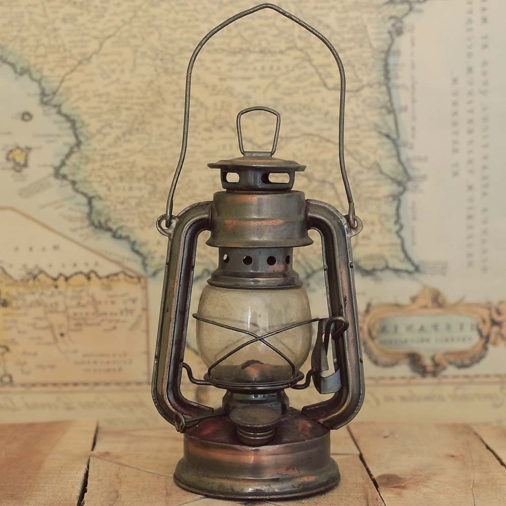 Outdoor Railroad Lanterns With Regard To Famous Antique Lanterns Ideas Decorating — Gonzo Alonso Design (View 10 of 20)