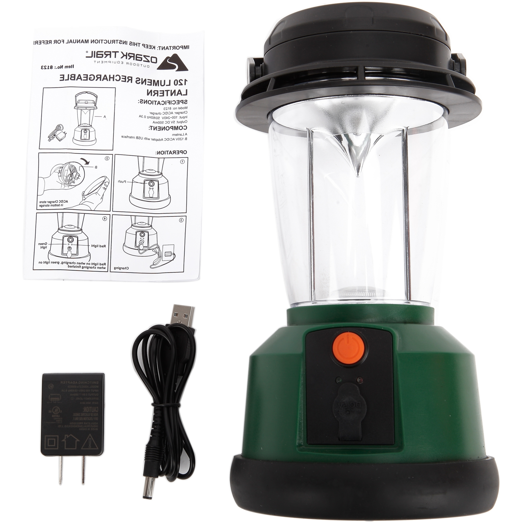 Outdoor Rechargeable Lanterns Pertaining To Most Popular Led Rechargeable Lantern With 3 Mods And Usb Interface, 120 Lumens (View 11 of 20)