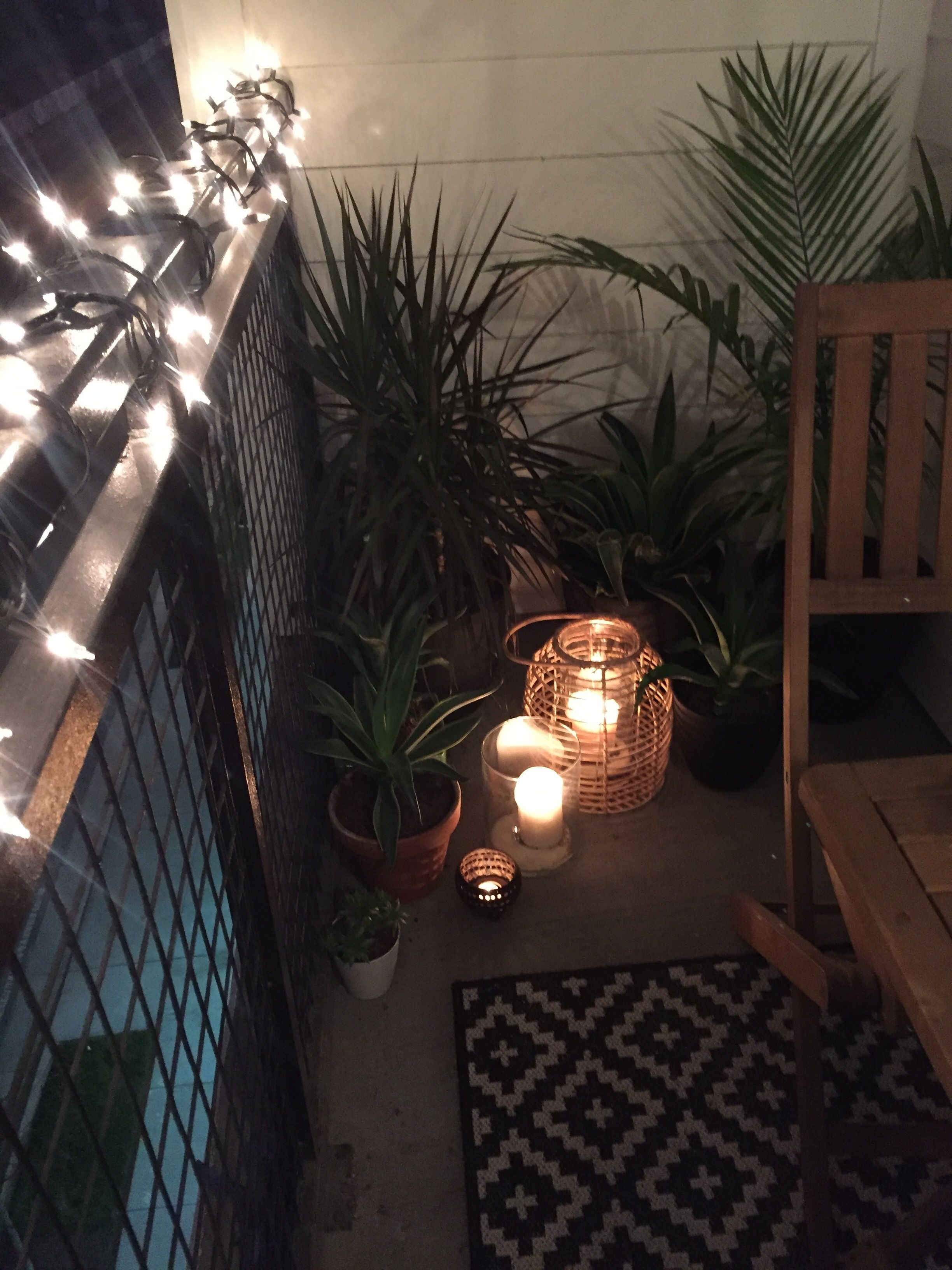 Outdoor Rope Lighting Ideas Elegant Tropical Plants Candles Lanterns Inside Trendy Outdoor Rope Lanterns (Gallery 14 of 20)