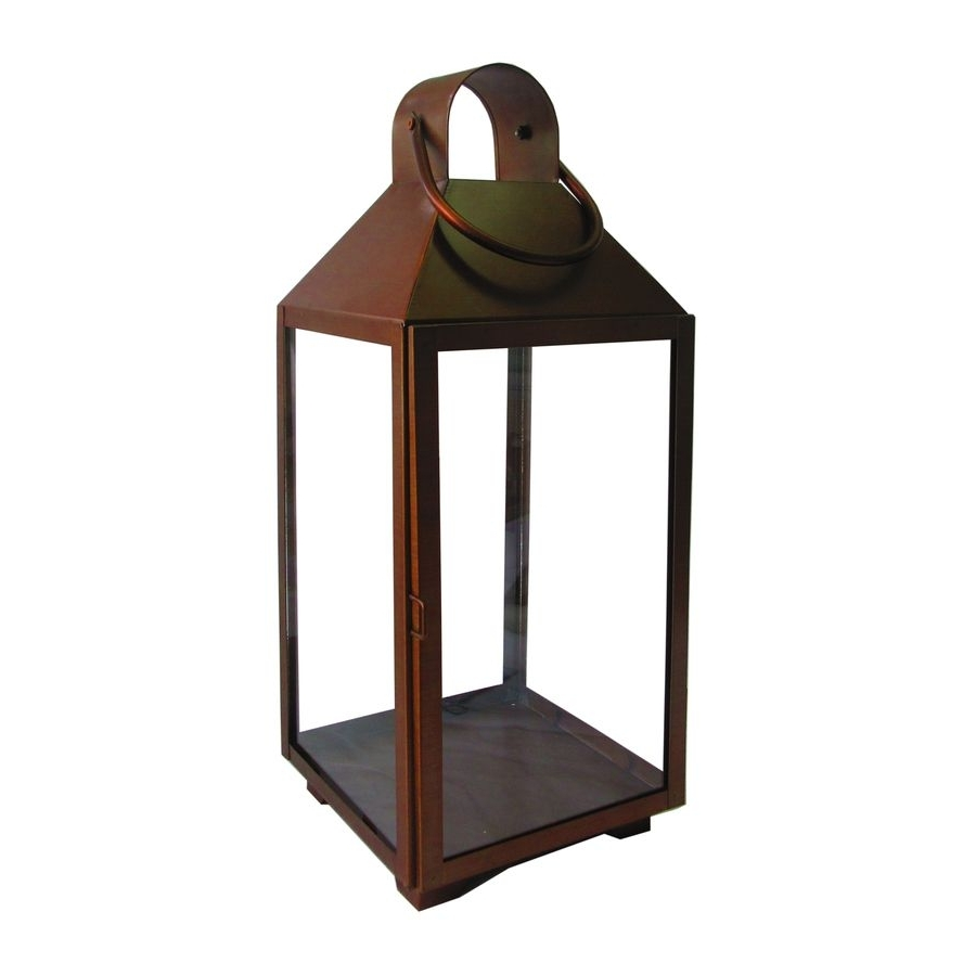 Outdoor Rustic Lanterns Throughout Famous Saw This In Store, It's Pretty Nice. Great Size (View 11 of 20)