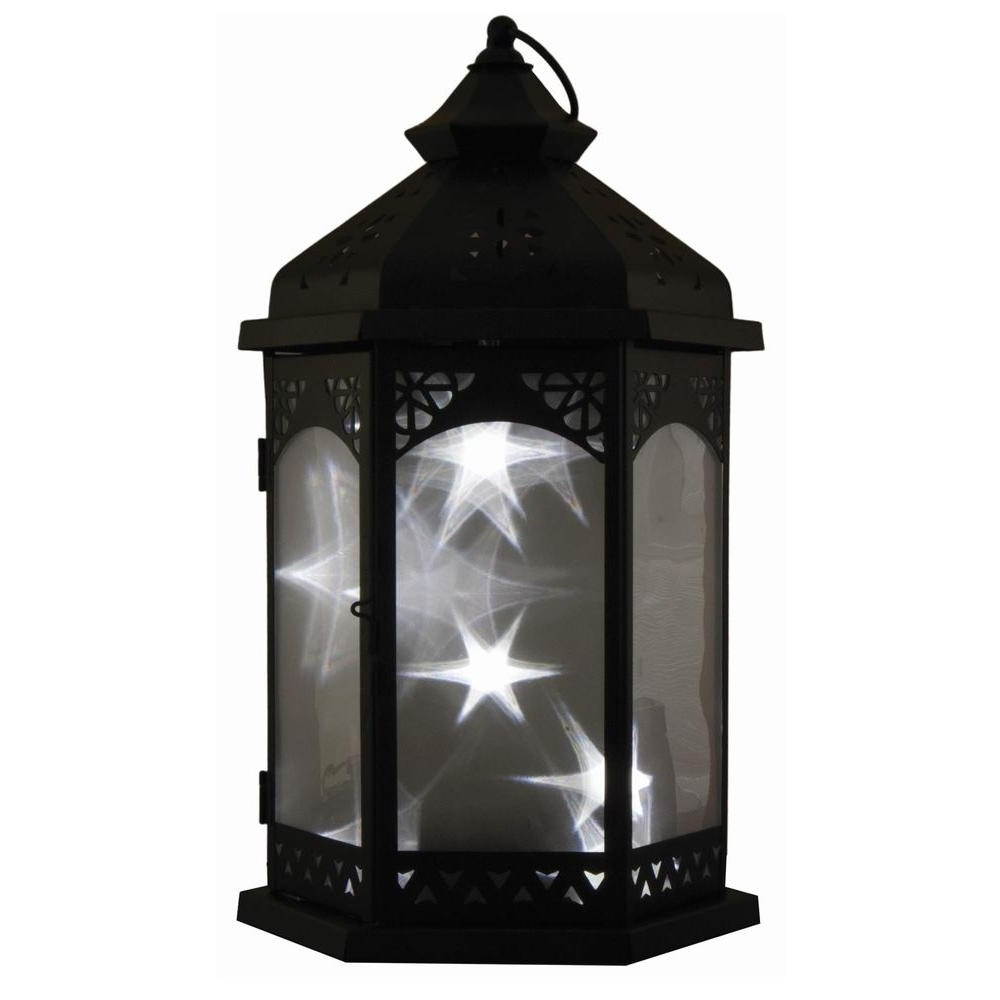 Outdoor Standing Lanterns For Most Recent Smart Design Baltimore Star 16 In (View 11 of 20)