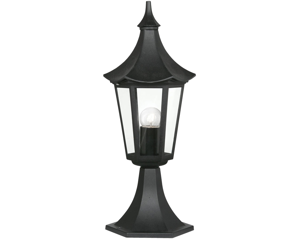 Outdoor Standing Lanterns With Most Up To Date Outdoor Pedestal Lights From Easy Lighting (View 16 of 20)
