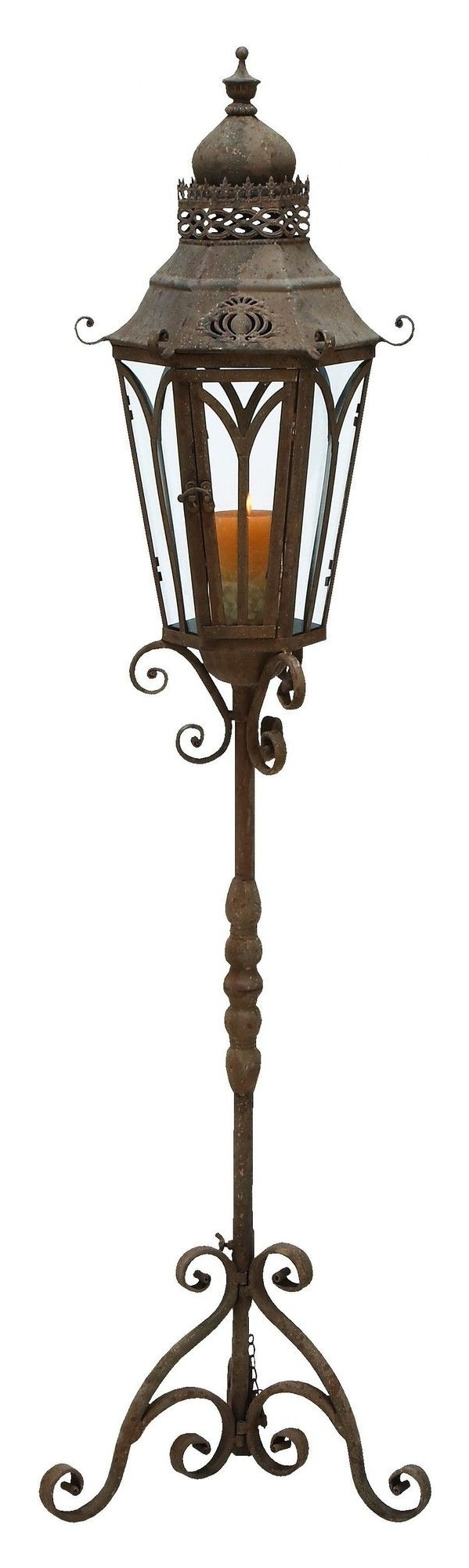 Outdoor Standing Lanterns Within Most Recent Aspire Outdoor Lantern With Stand & Reviews (View 17 of 20)