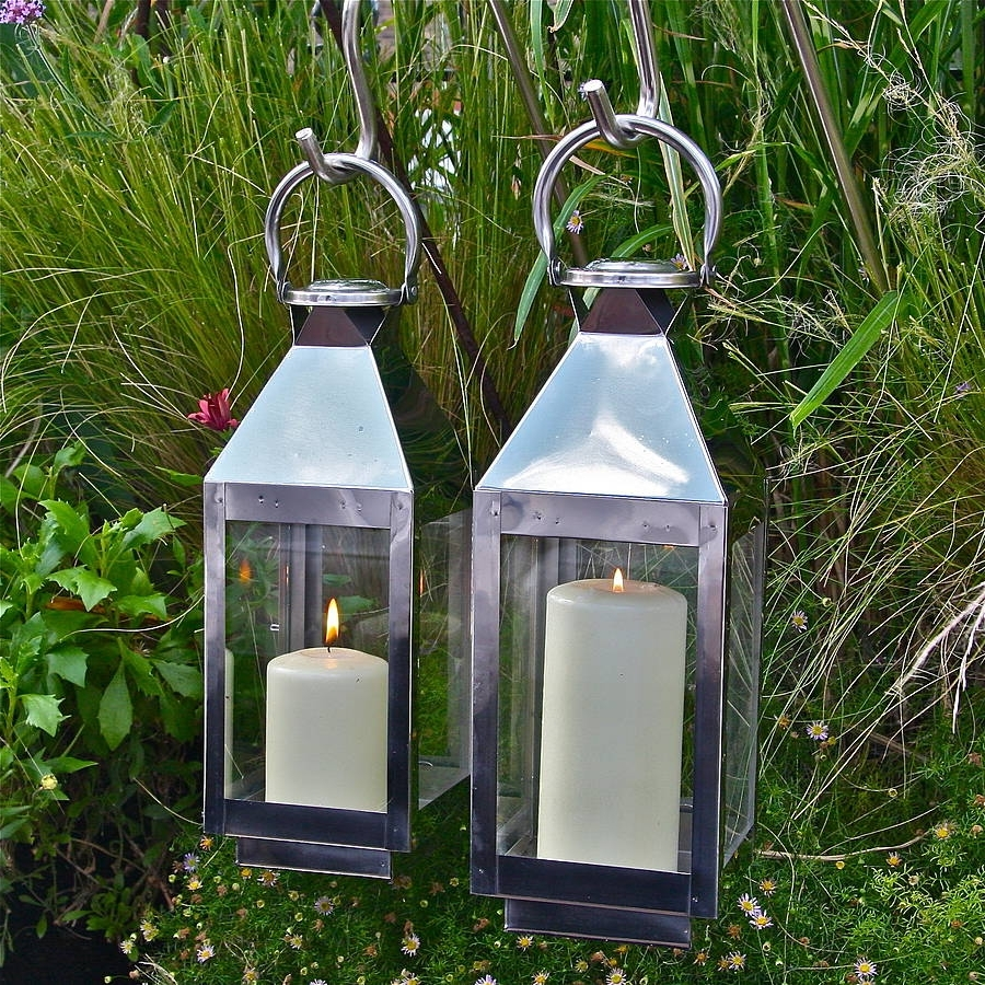 Outdoor Storm Lanterns Regarding Famous St Mawes Hurricane Garden Lanternlondon Garden Trading (View 13 of 20)