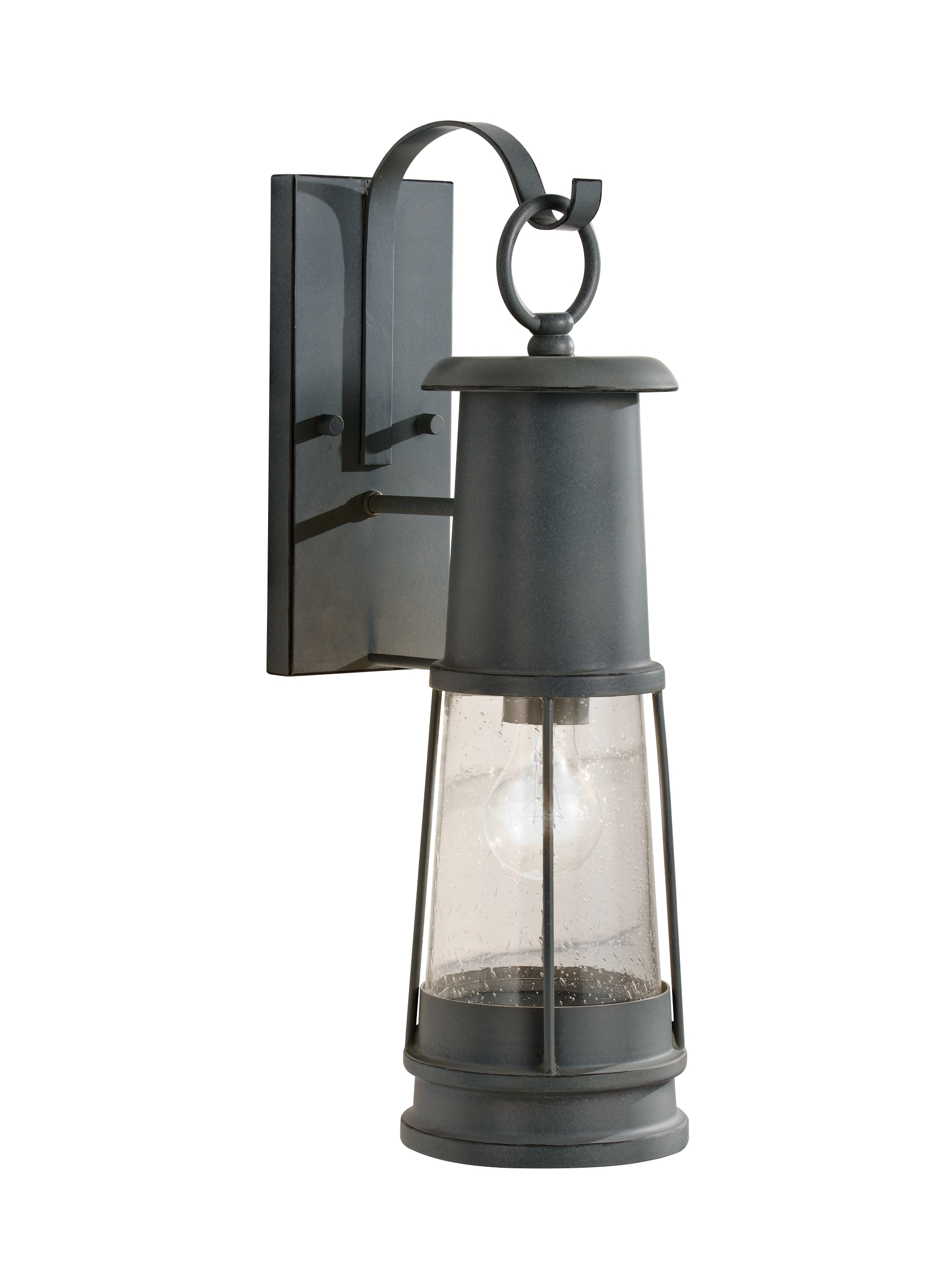 Outdoor Storm Lanterns Throughout Most Recently Released Ol8101Stc,1 Light Outdoor Lantern,storm Cloud (View 14 of 20)