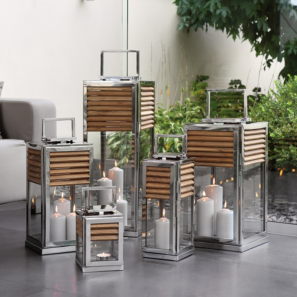 Outdoor Table Lanterns Pertaining To Current Designer Candle Holders Candelabra & Lanterns – Luxury High End (View 5 of 20)