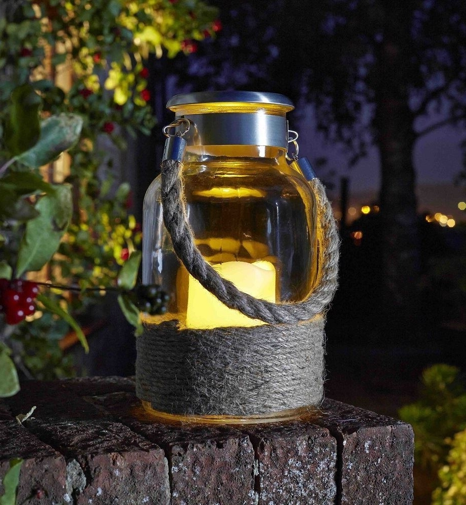 Outdoor Tea Light Lanterns With Regard To Most Popular Lanterns, Tea Lights – Outdoor Living Buy Trees, Shrubs, Perennials (View 15 of 20)