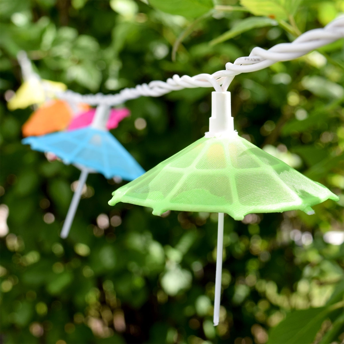 Outdoor Tropical Lanterns In Most Recently Released Mini Umbrella Party String Lights – 10 Lights (View 12 of 20)