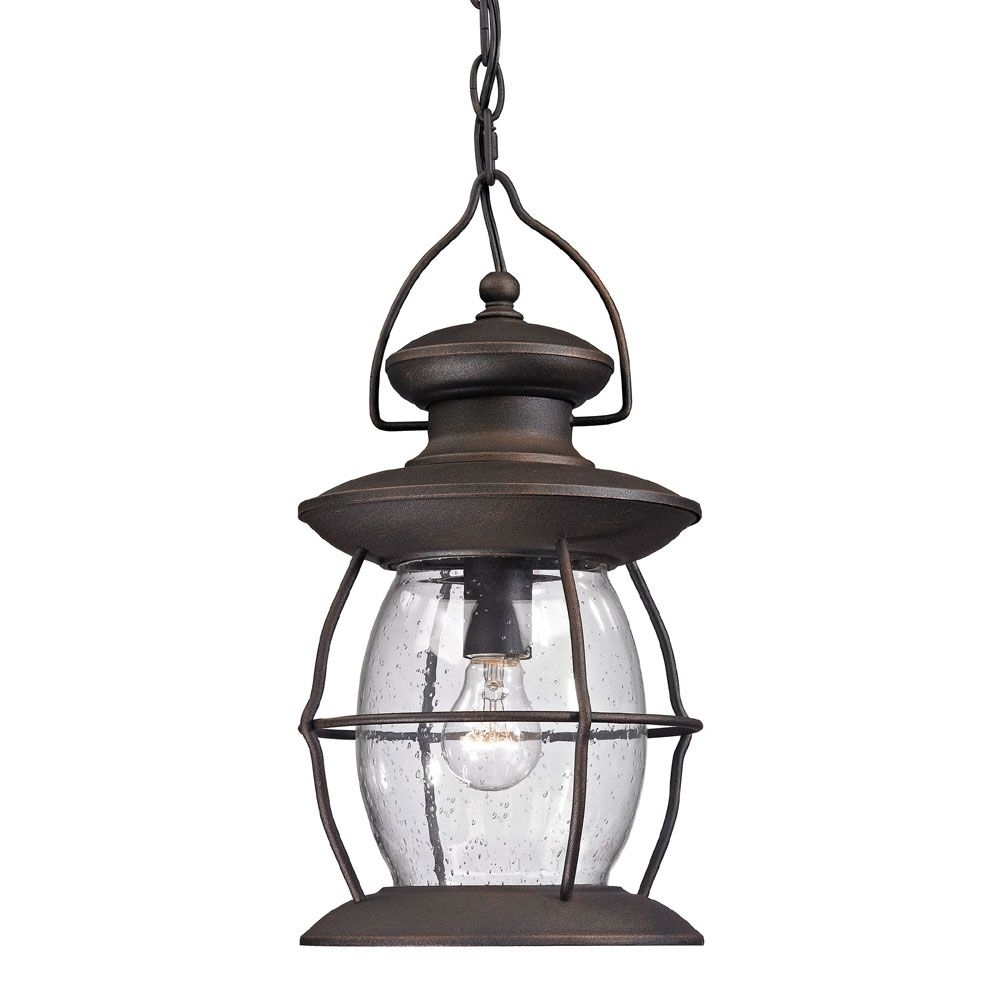 Outdoor Tropical Lanterns Within Well Known Top 20 Of Tropical Outdoor Hanging Lights (View 16 of 20)