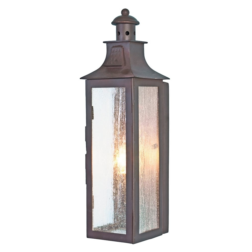 Outdoor Wall Lanterns For Widely Used Elstead Lighting Stow Wrought Iron Outdoor Wall Light – Fitting Type (Gallery 15 of 20)