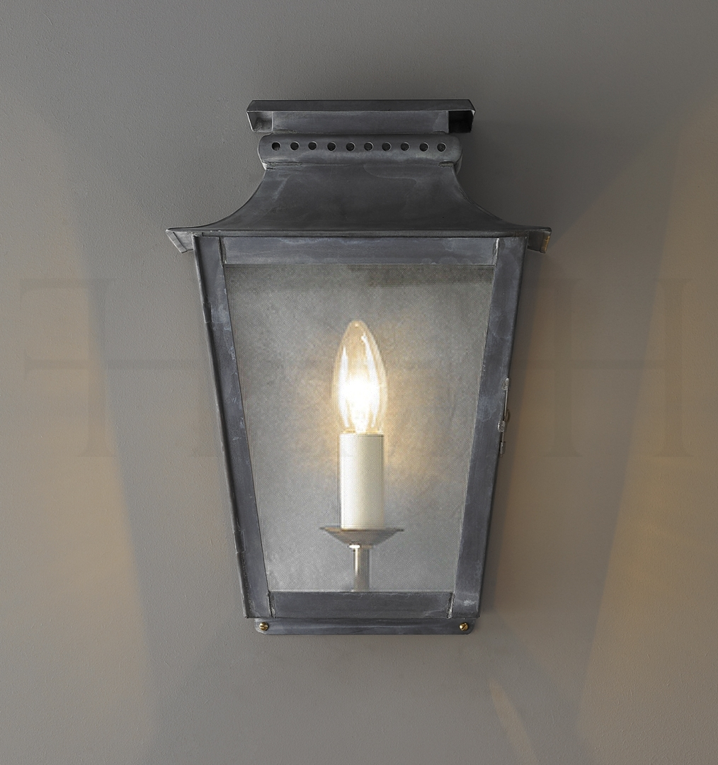 Outdoor Wall Lanterns Intended For Best And Newest Classical Zeus Zinc Outdoor Wall Lantern (View 14 of 20)