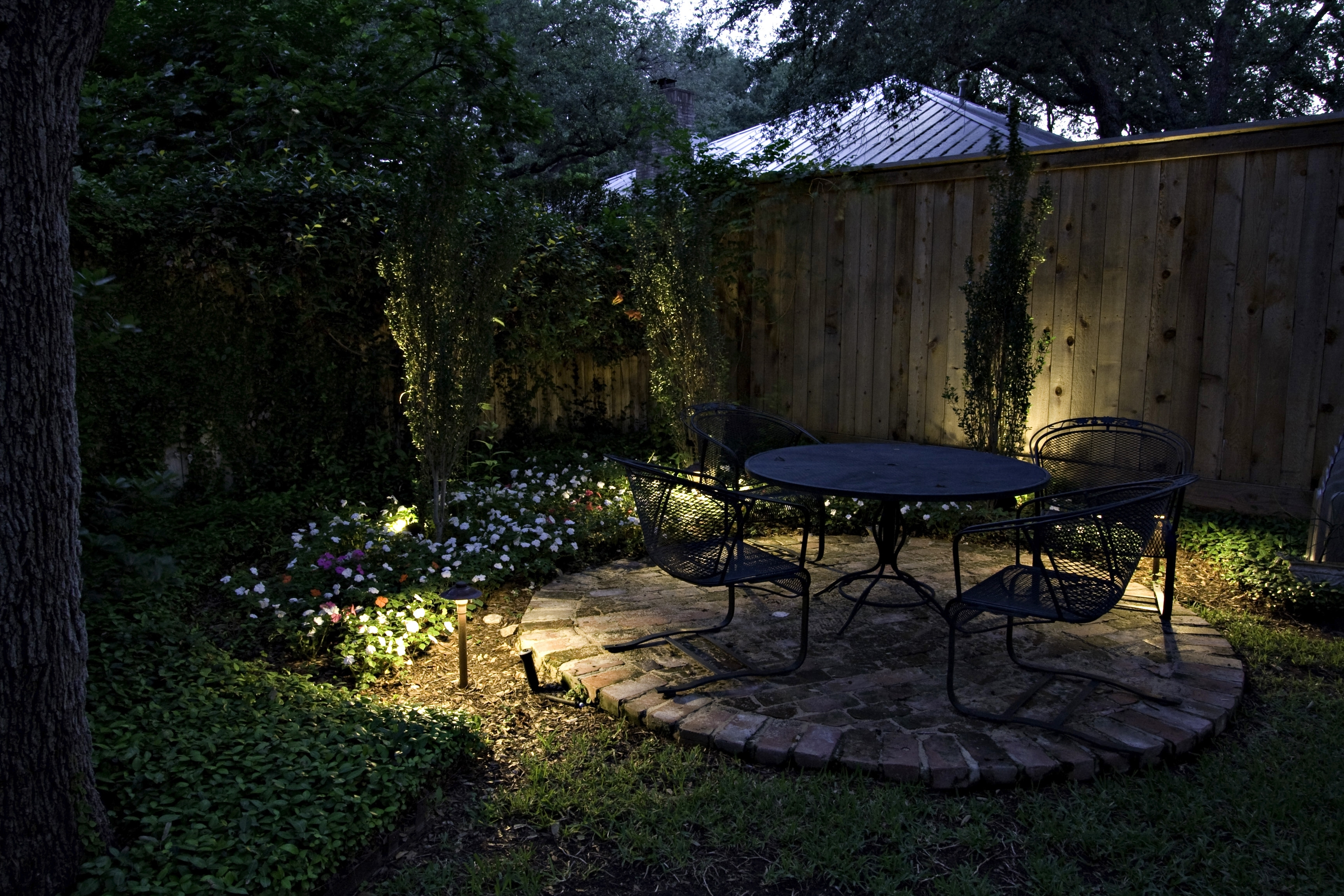 Outdoor Yard Lanterns For Recent Seattle Patio Lighting And Deck Lighting (View 10 of 20)