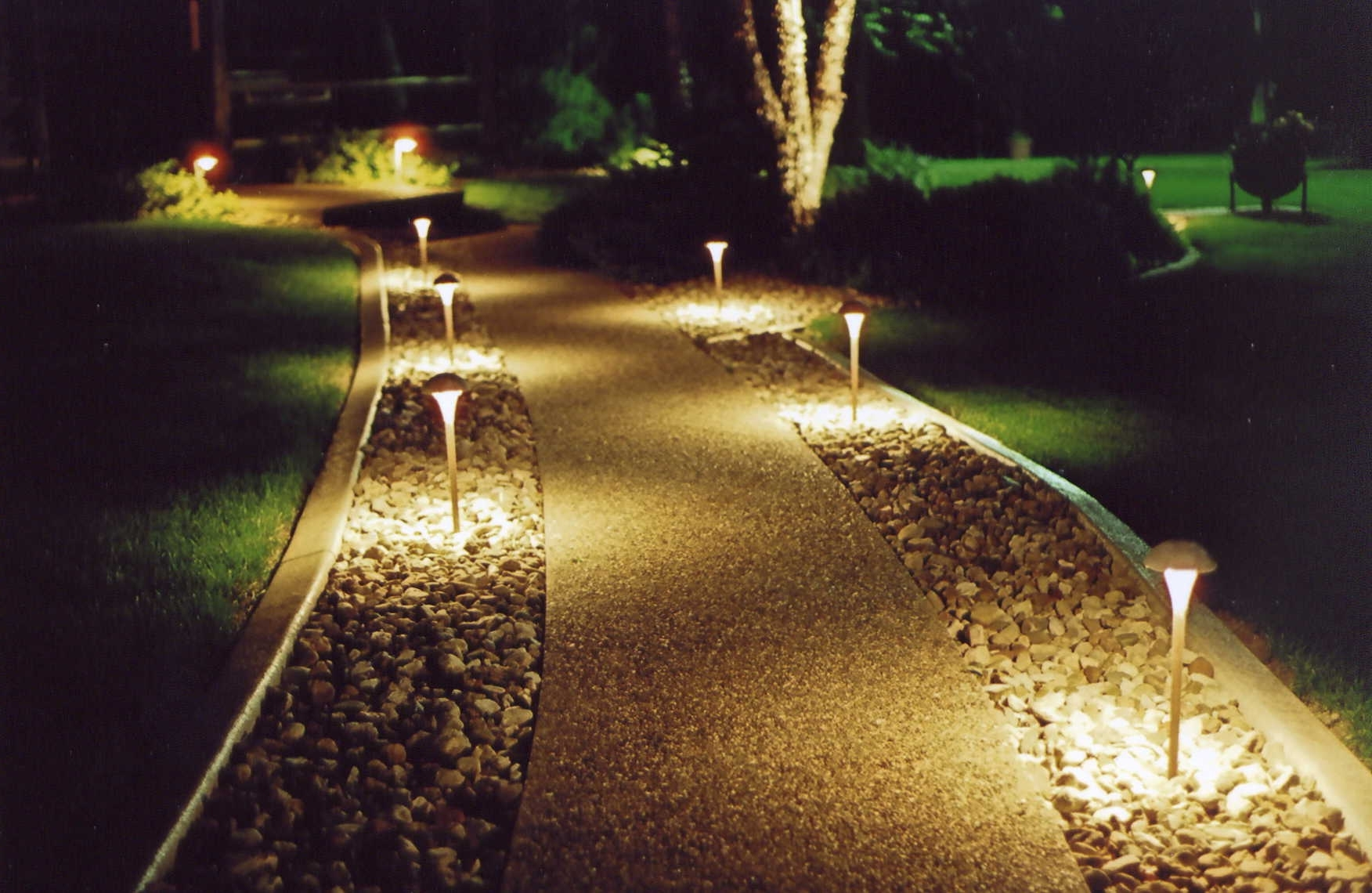 Outdoor Yard Lanterns Throughout Preferred Outdoor Lighting Landscape Guide Light Perspectives Fixtures Wall (View 13 of 20)