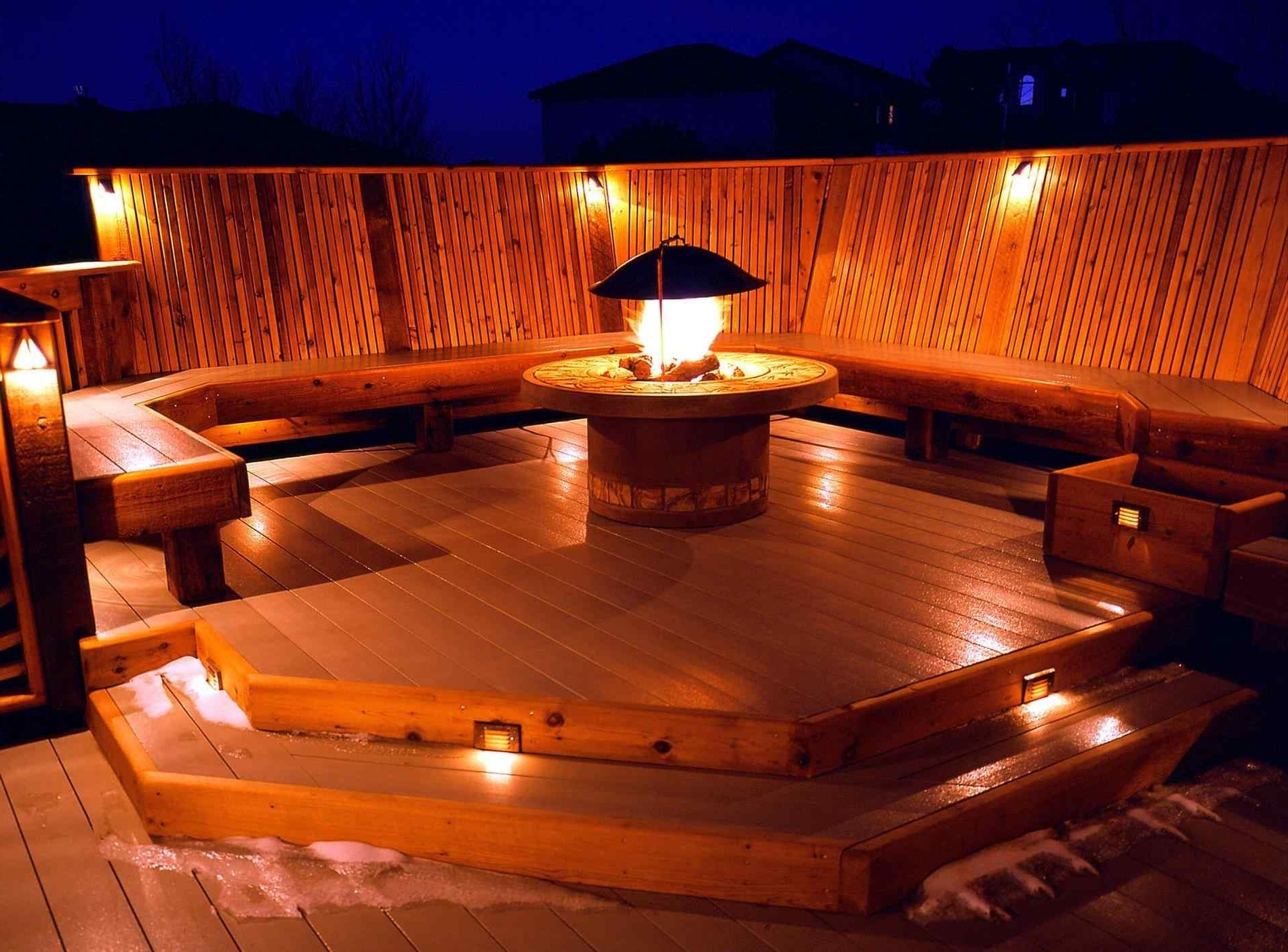 Outside Deck Lighting Ideas – Arch (View 11 of 20)