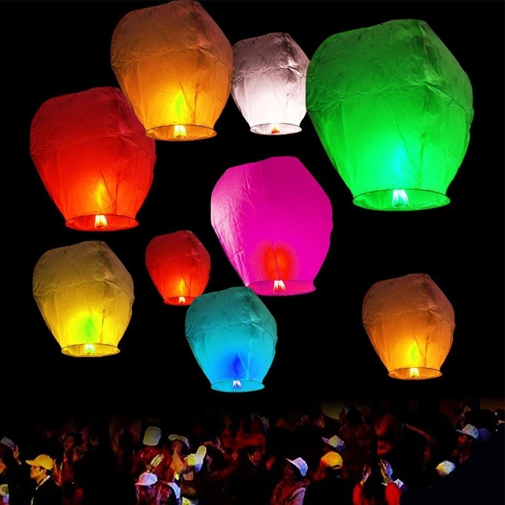 Paper Lanterns (View 12 of 20)