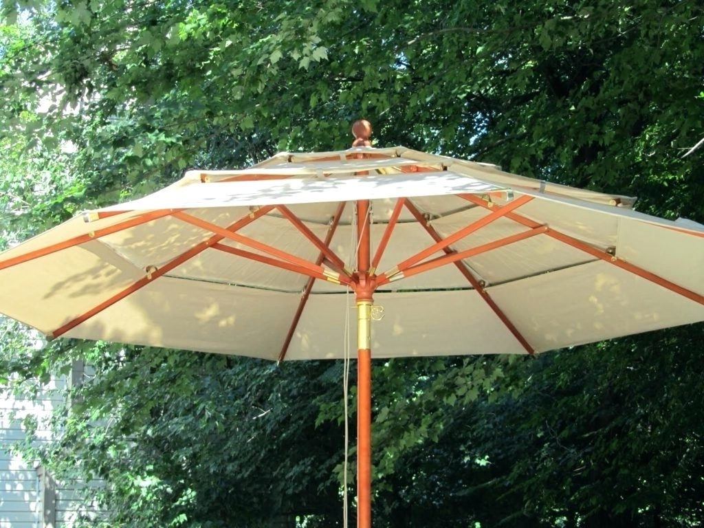 Patio Ideas ~ Large Outdoor Patio Umbrellas Umbrella Bases Large With Regard To Latest Costco Cantilever Patio Umbrellas (Gallery 17 of 20)