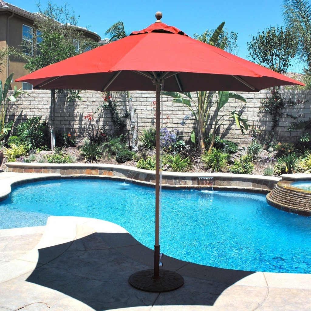 Patio Ideas ~ Large Patio Umbrella Home Depot Large Patio Umbrella Inside Most Up To Date Sams Club Patio Umbrellas (View 8 of 20)