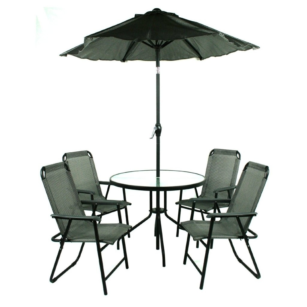Patio Sets With Umbrellas For Most Recent Patio Table And Chairs With Umbrella (View 9 of 20)