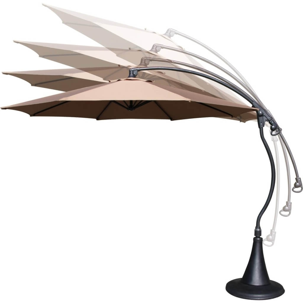 Patio: Setting Your Patio Decoration With Lowes Patio Umbrella Throughout Most Up To Date Lowes Cantilever Patio Umbrellas (View 11 of 20)