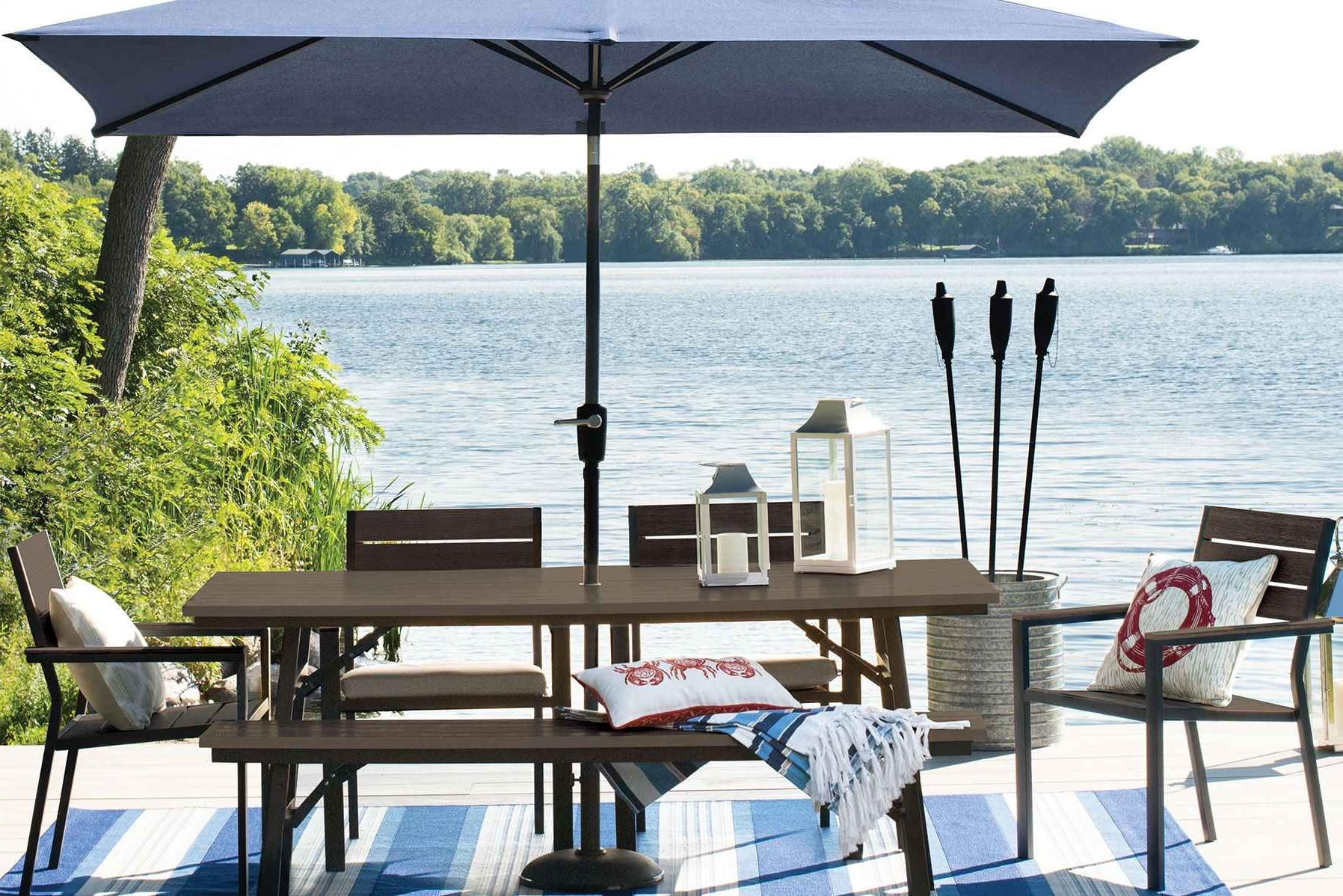 Patio Tablehairs Umbrellaca Breathtaking Furniture Umbrella Picnic In Well Known Patio Umbrellas For Rent (View 8 of 20)