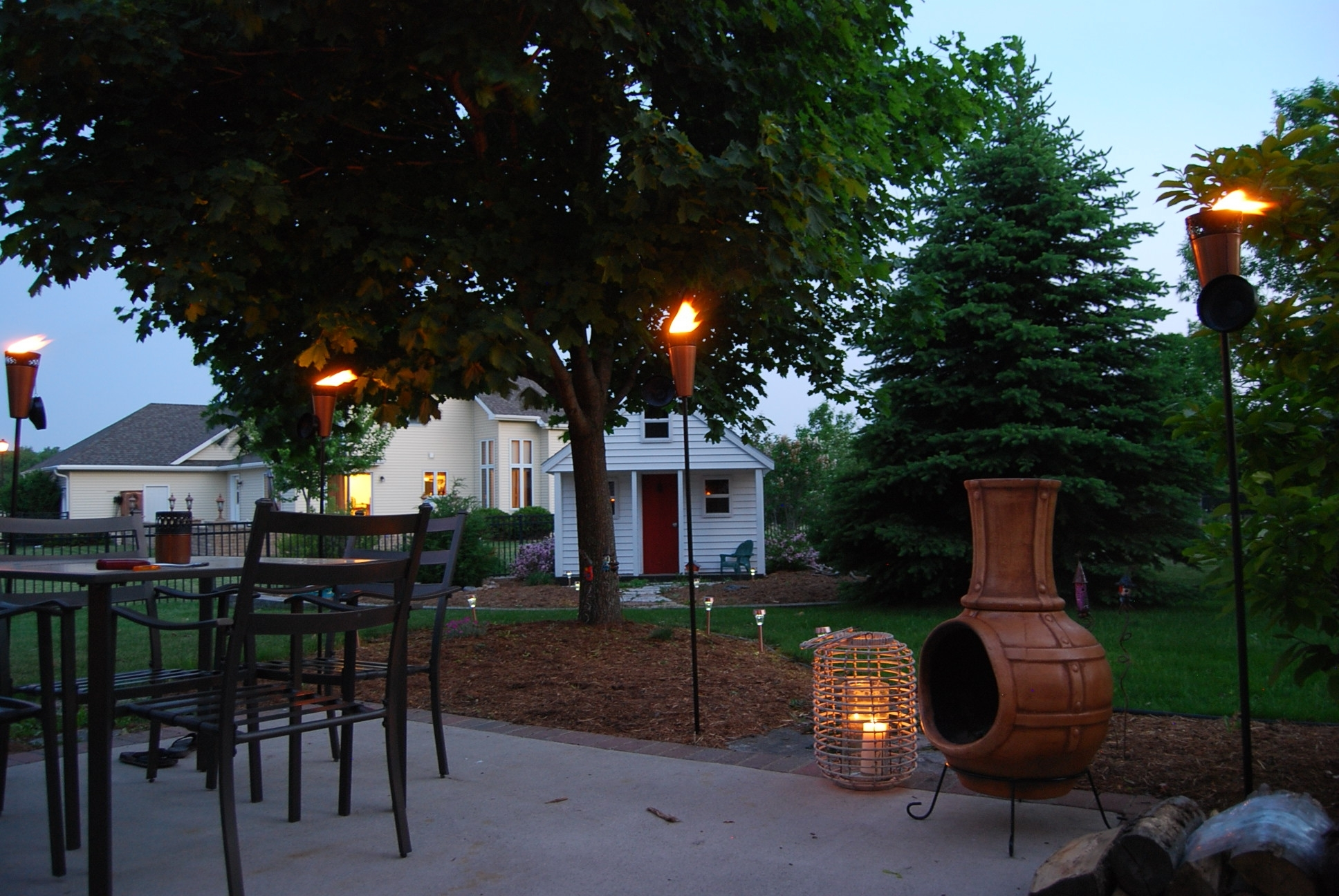 Patio Torches New Propane Tiki Torches For Sale Led Flame Lamp For Favorite Outdoor Tiki Lanterns (View 13 of 20)