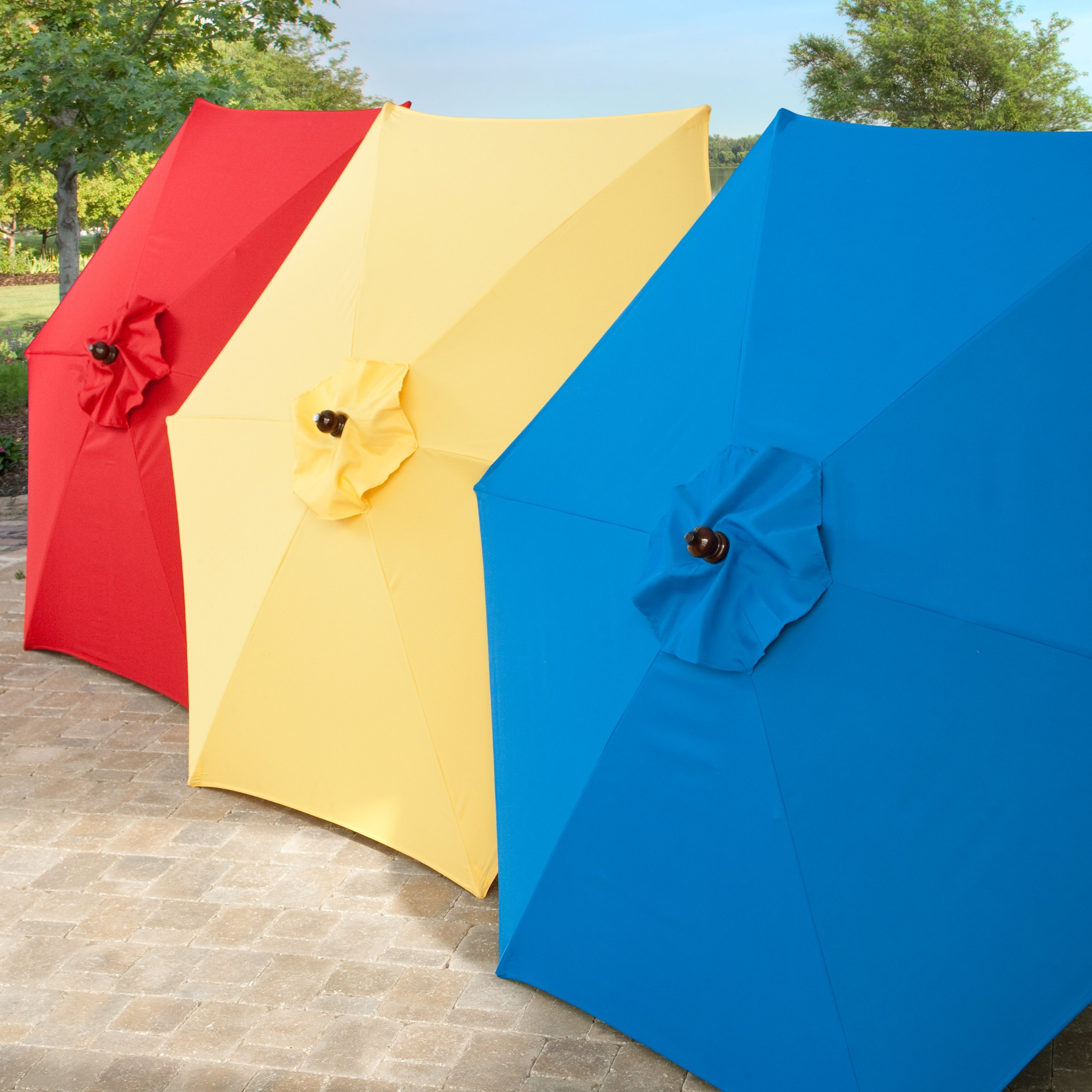 Patio Umbrella Covers With Regard To Preferred Coral Coast Key Largo 7.5 Ft (View 10 of 20)
