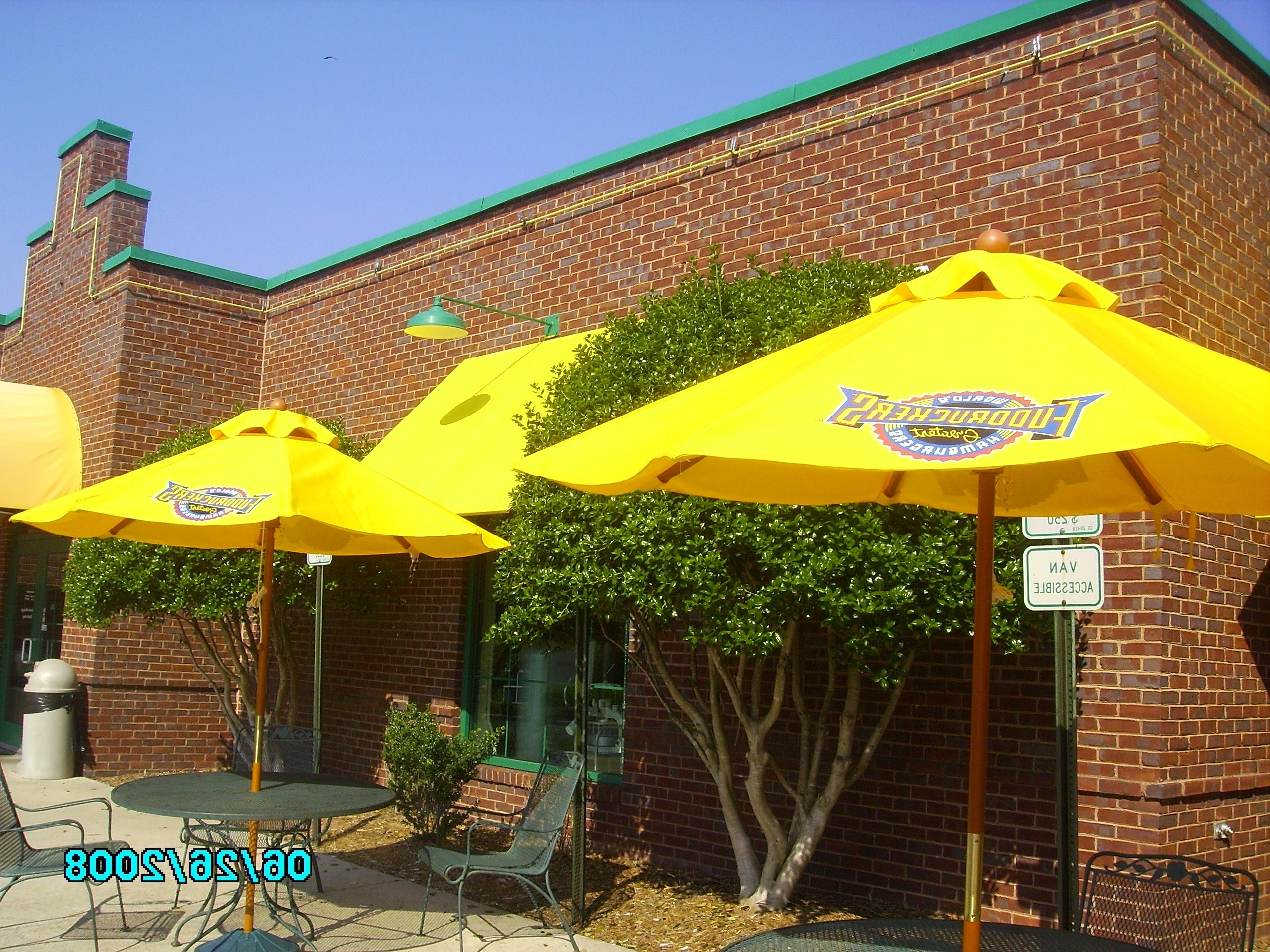 Patio Umbrellas  Custom Made Commercial Grade Available With With 2018 Yellow Sunbrella Patio Umbrellas (Gallery 15 of 20)