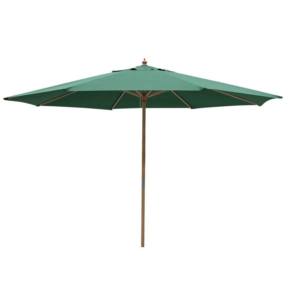 Patio Umbrellas For Most Up To Date Wooden Patio Umbrellas (View 11 of 20)