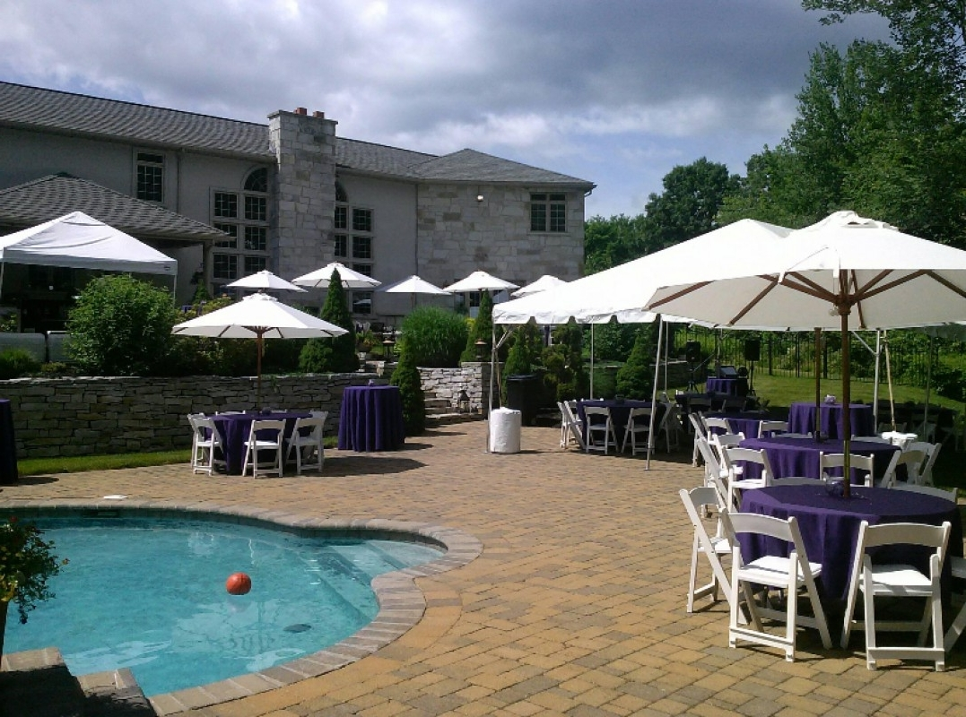 Patio Umbrellas For Rent Pertaining To Most Popular Michaels Party Rentals » Gallery: Backyard Parties (View 11 of 20)