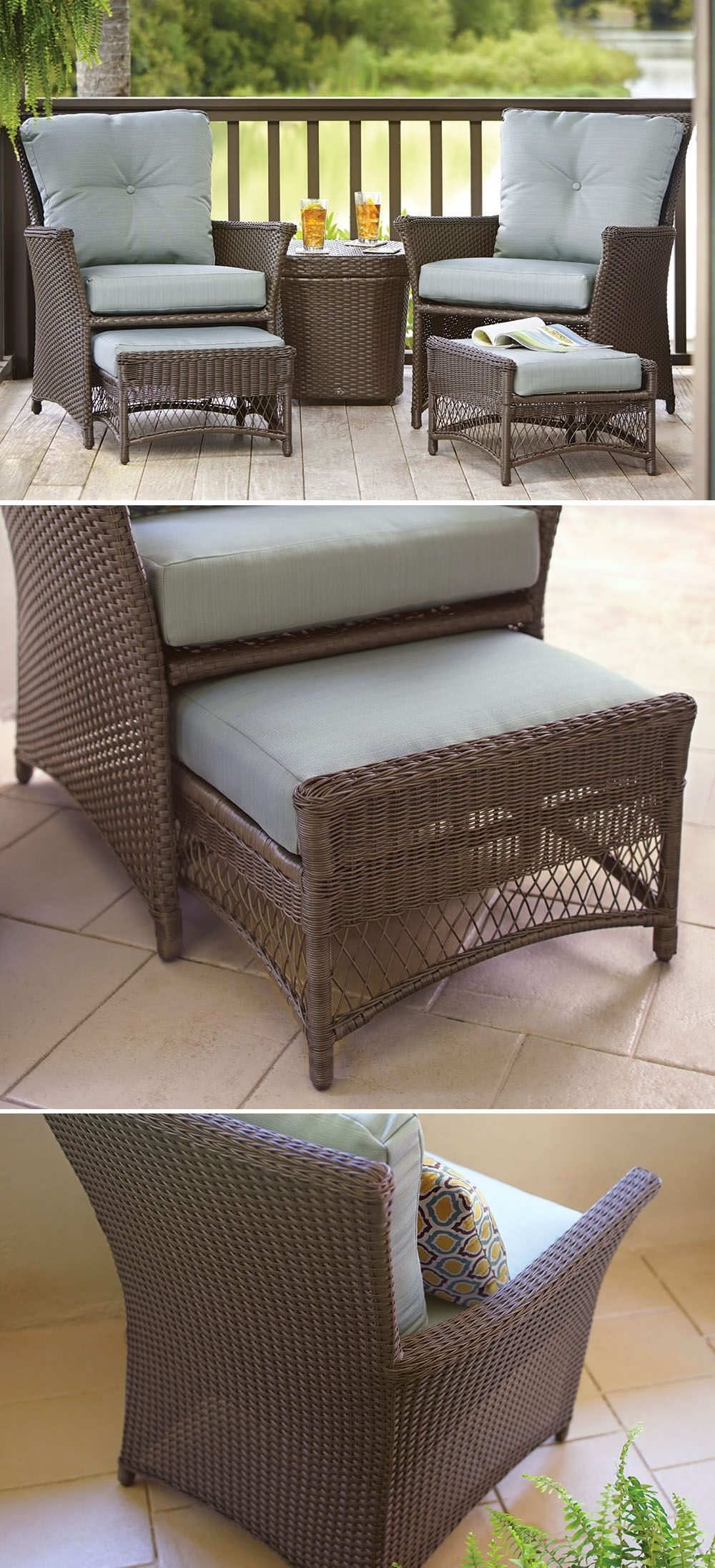 Patio Umbrellas For Small Spaces Pertaining To Fashionable This Affordable Patio Set Is Just The Right Size For Your Small (Gallery 19 of 20)