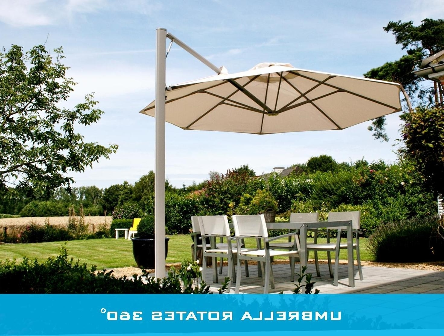 Patio Umbrellas For Windy Locations Throughout Latest Great Wind Resistant Patio Umbrella Australia F37x In Creative Home (View 10 of 20)