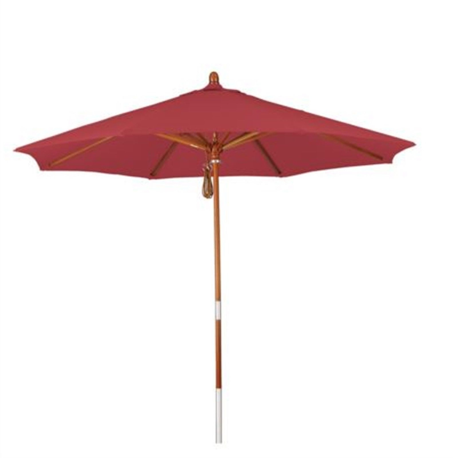 Phat Tommy Red Market Patio Umbrella Home Decorative Furniture With Regard To Current Red Patio Umbrellas (View 10 of 20)