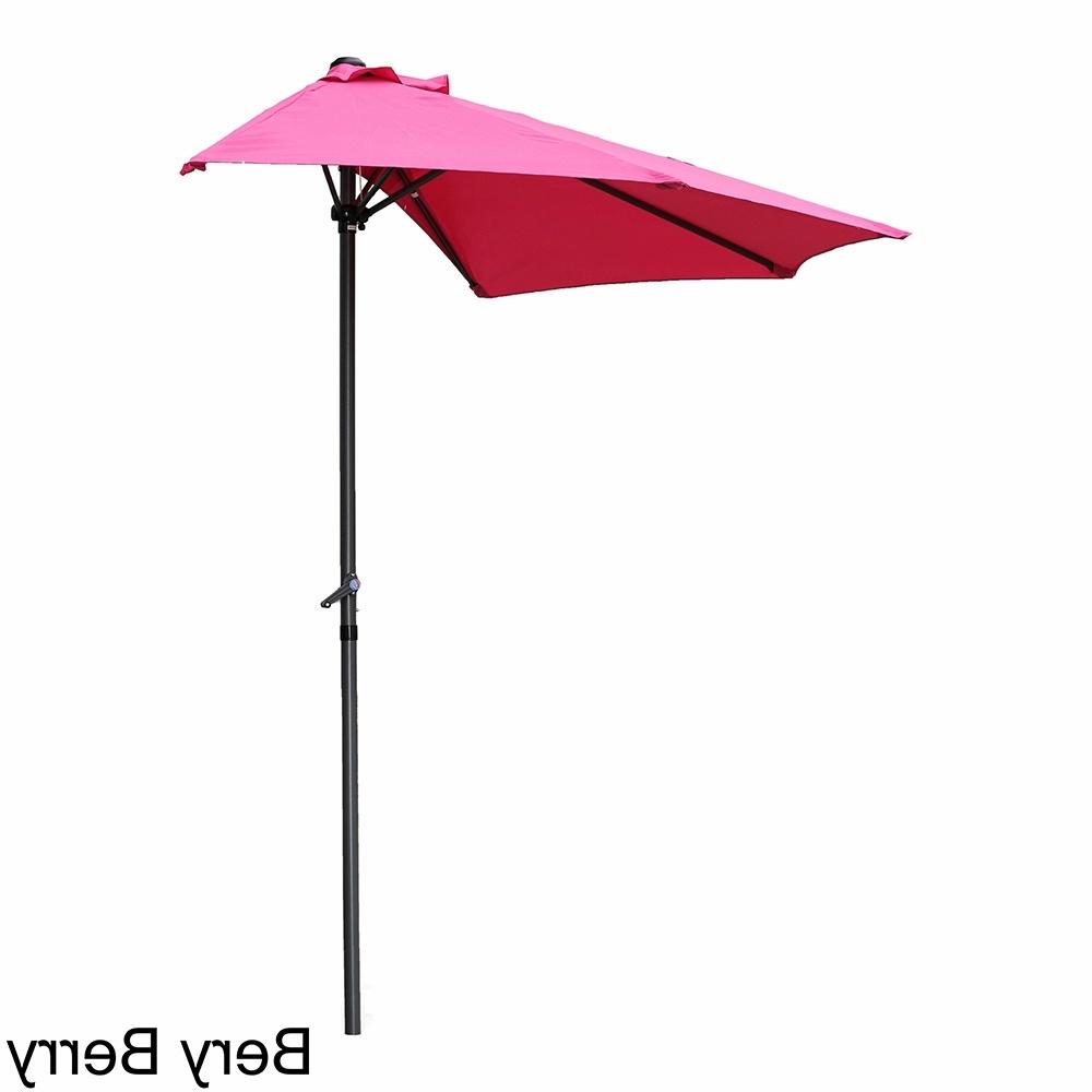 Pink Patio Umbrellas With Preferred Shop International Caravan St (View 14 of 20)