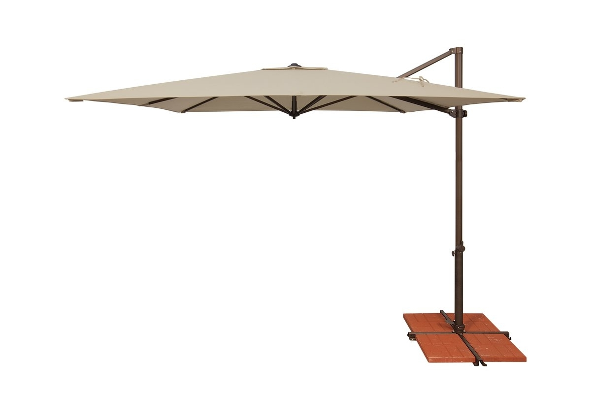 Popular 10 Best Patio Umbrella Reviews: Top Quality Outdoor Umbrellas In 2018 For Wayfair Patio Umbrellas (Gallery 19 of 20)