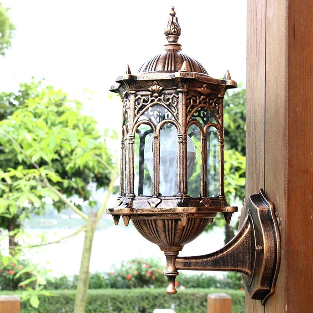 Popular Big Lots Outdoor Lanterns Pertaining To Candles ~ Giant Candle Lanterns Antique Exterior Wall Light Fixture (View 10 of 20)
