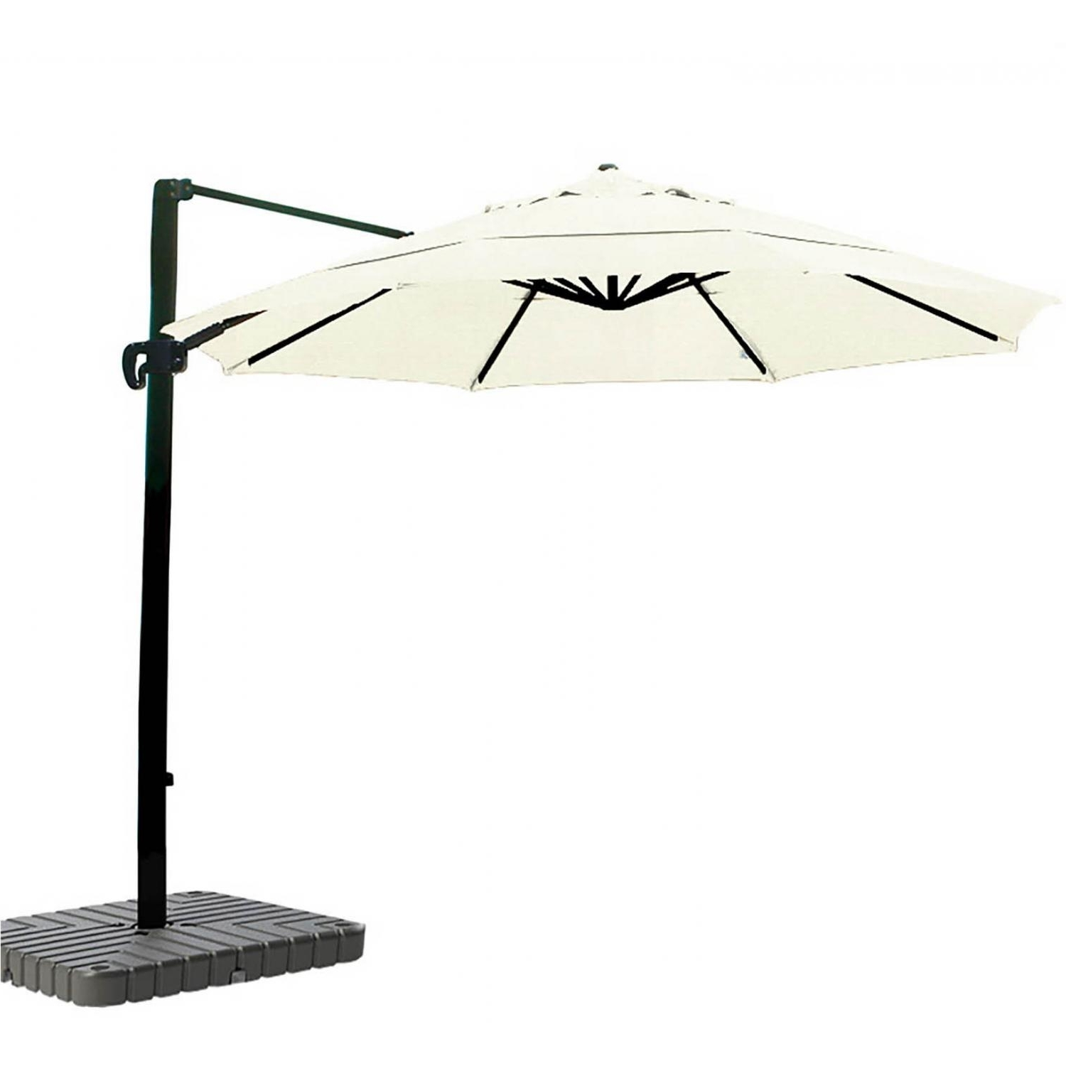 Popular California Umbrella 11 Ft Octagonal Aluminum Multi Position Tilt For 11 Ft Patio Umbrellas (View 16 of 20)