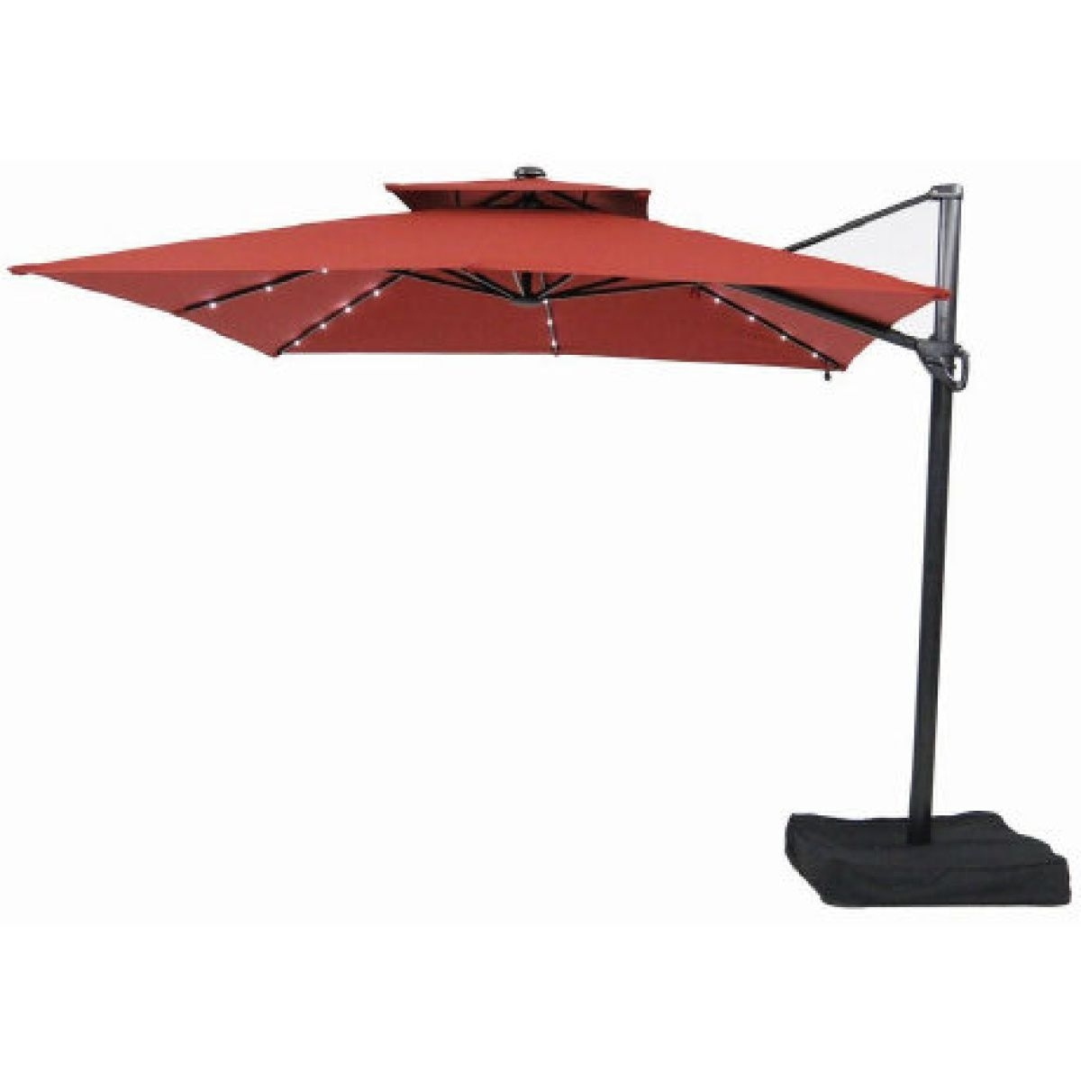 Popular Cantilever Patio Umbrellas Won't Obstruct The View (View 12 of 20)