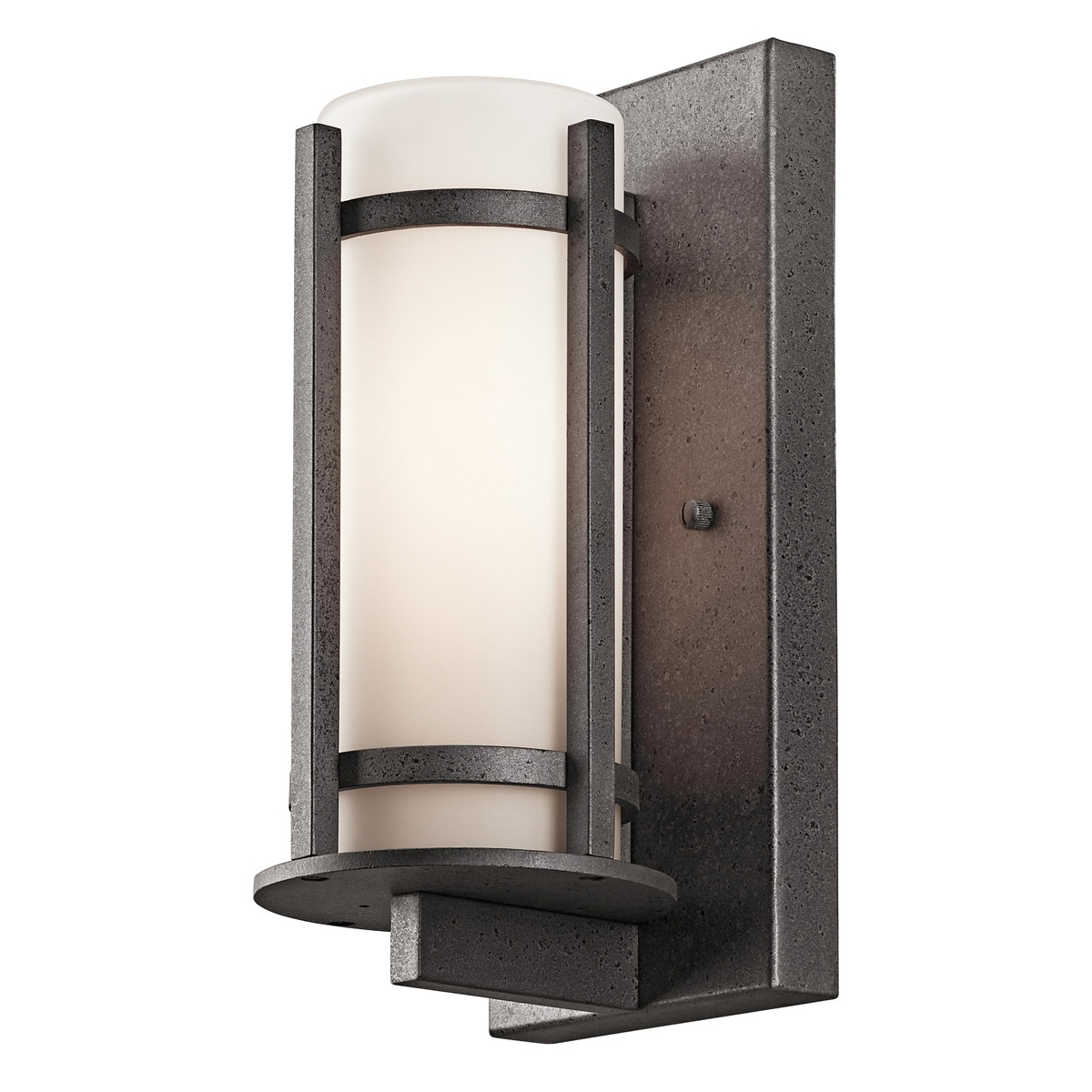 Popular Kichler 49119Avi Camden Outdoor Wall Sconce In Kichler Outdoor Lanterns (View 17 of 20)
