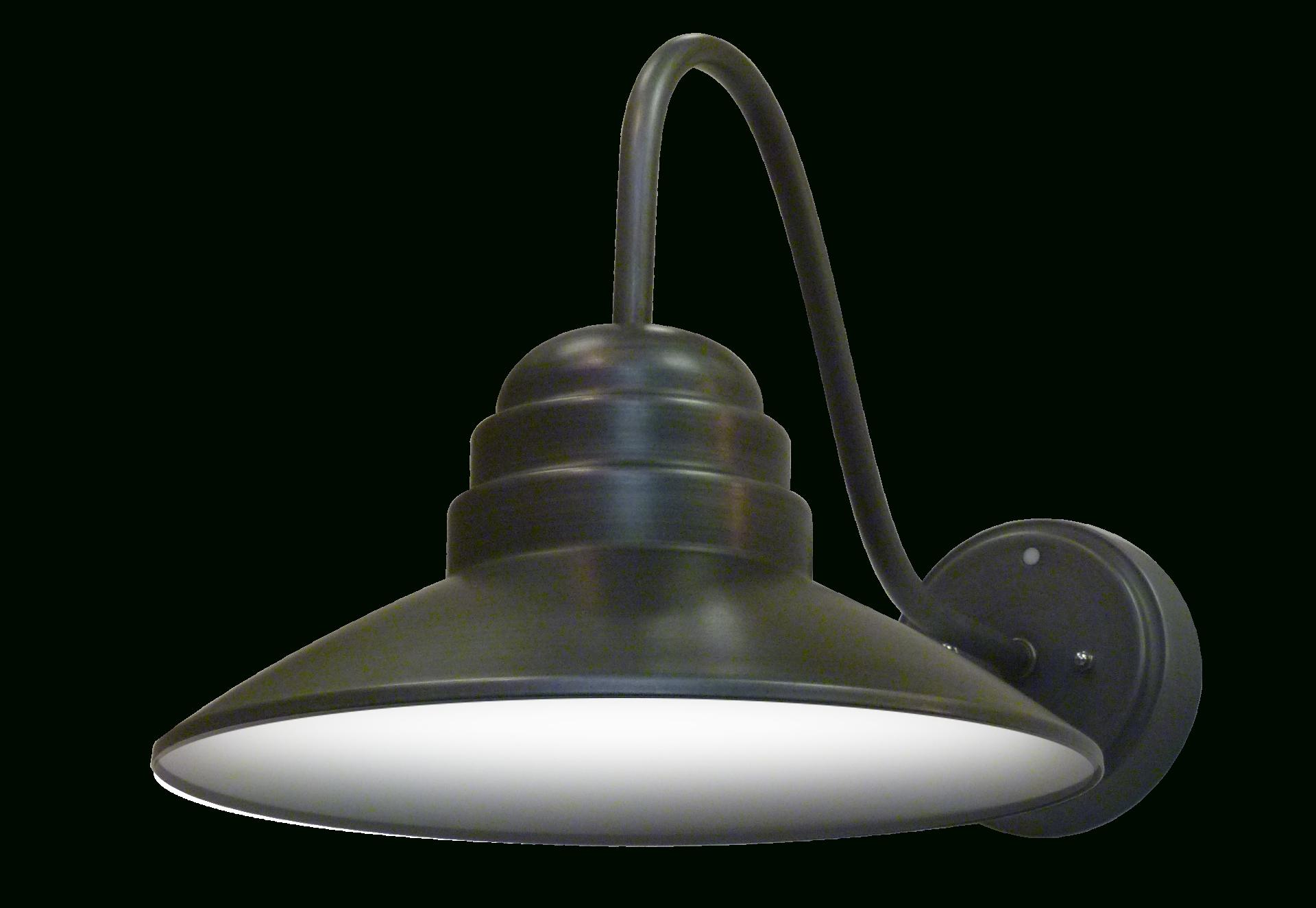 Popular Led Outdoor Gooseneck Lantern (View 20 of 20)