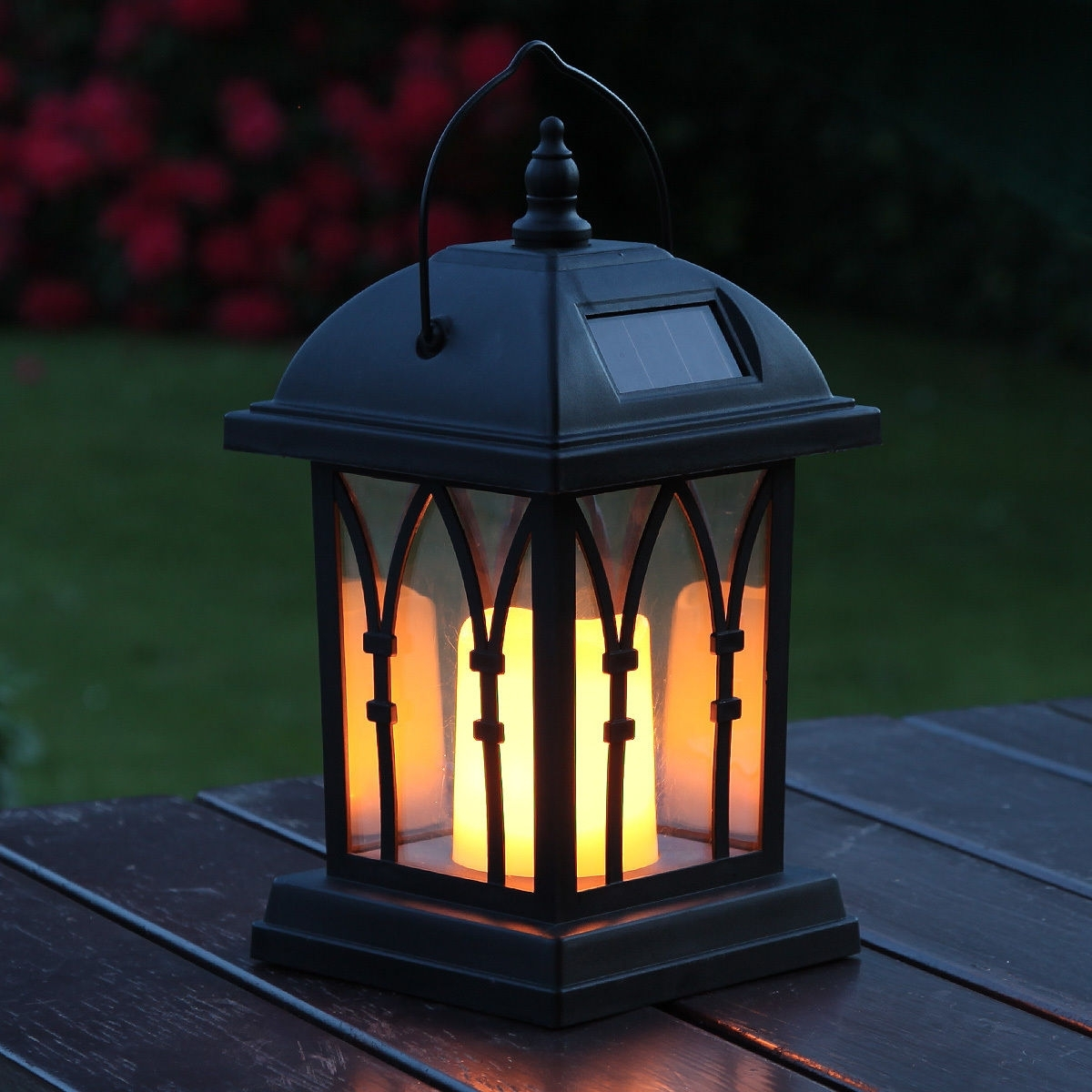 Popular Outdoor Décor Candle Lanterns , Garden Lighting , Garden & Patio Within Outdoor Lanterns With Led Candles (View 3 of 20)