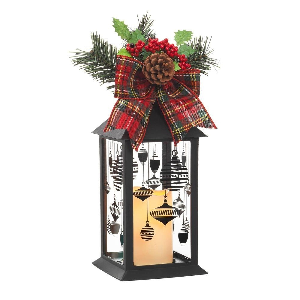 Popular Outdoor Holiday Lanterns With Home Accents Holiday 13 In (View 15 of 20)
