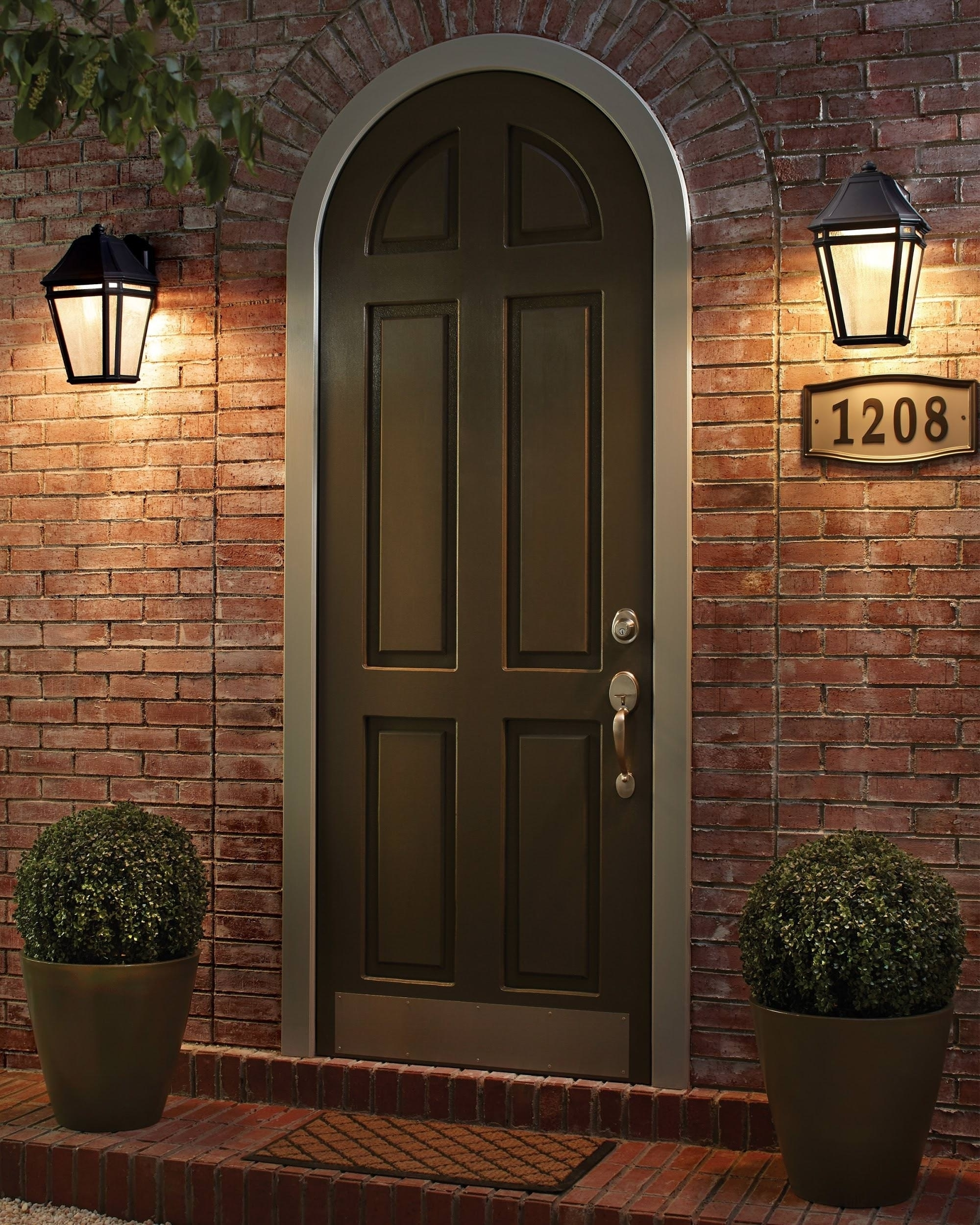 Popular Outdoor Lanterns For Garage Pertaining To View Gallery Of Hanging Outdoor Lights On House (Showing 14 Of  (View 17 of 20)