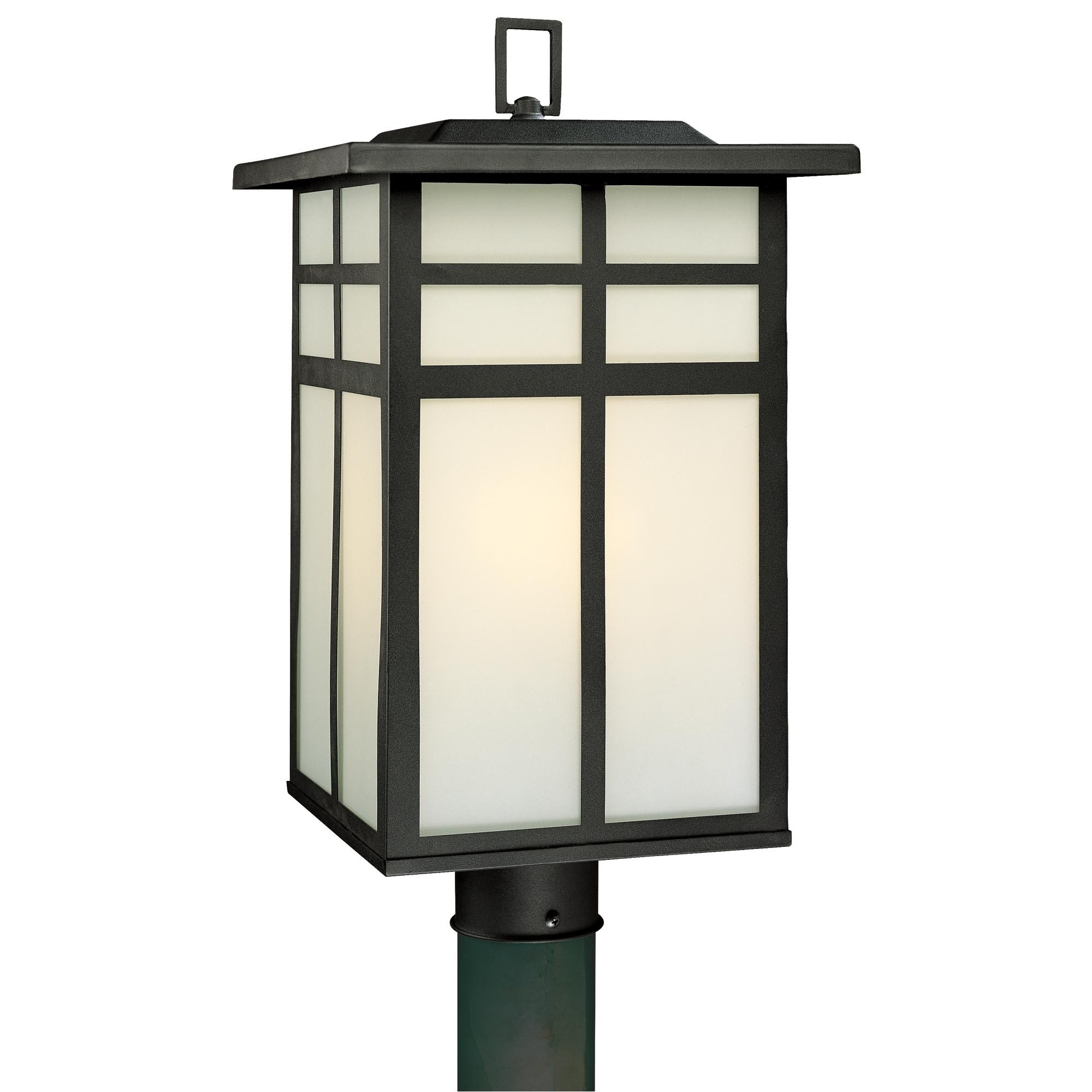 Popular Outdoor Lanterns For Posts With Regard To Modern Lamp Posts Outdoor • Lamp Ideas Site (View 15 of 20)