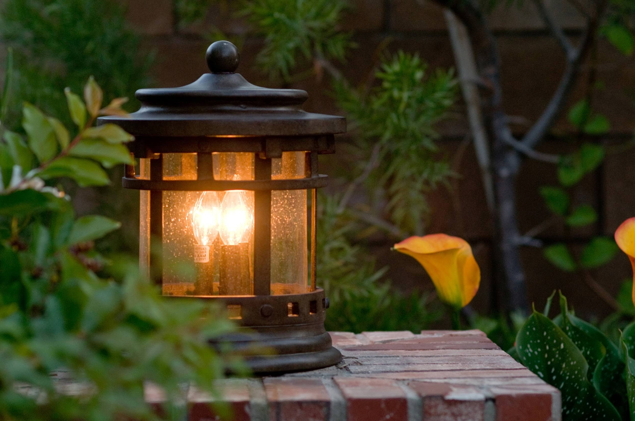 Popular Outdoor Lanterns On Stands Within 15 Different Outdoor Lighting Ideas For Your Home (all Types) (View 7 of 20)